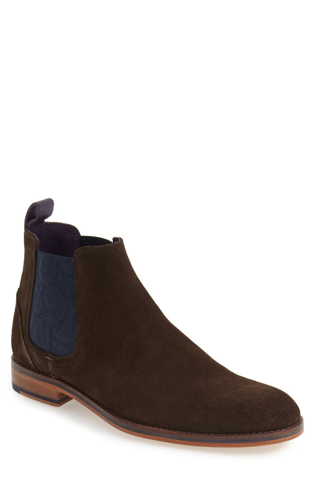 Main Image - Ted Baker London 'Camroon 4' Chelsea Boot (Men)