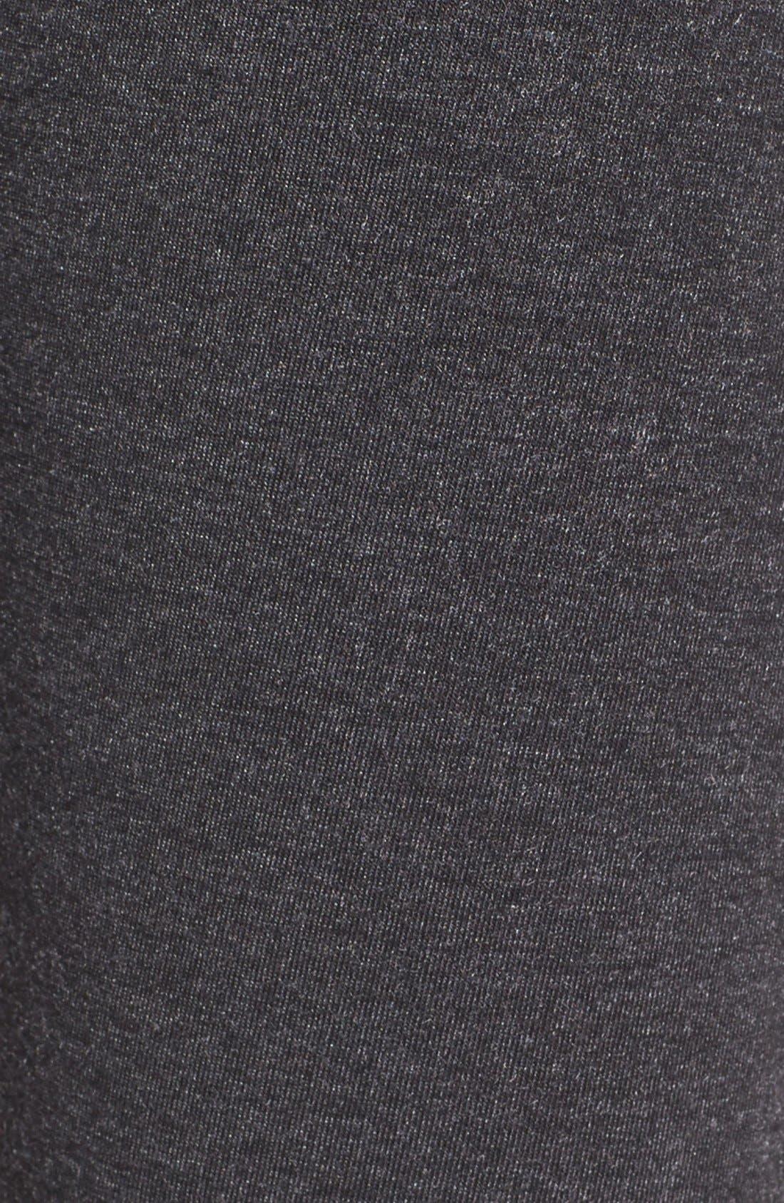 'Layer Me Up' Skirted Leggings,                             Alternate thumbnail 6, color,                             Grey Dark Charcoal Heather