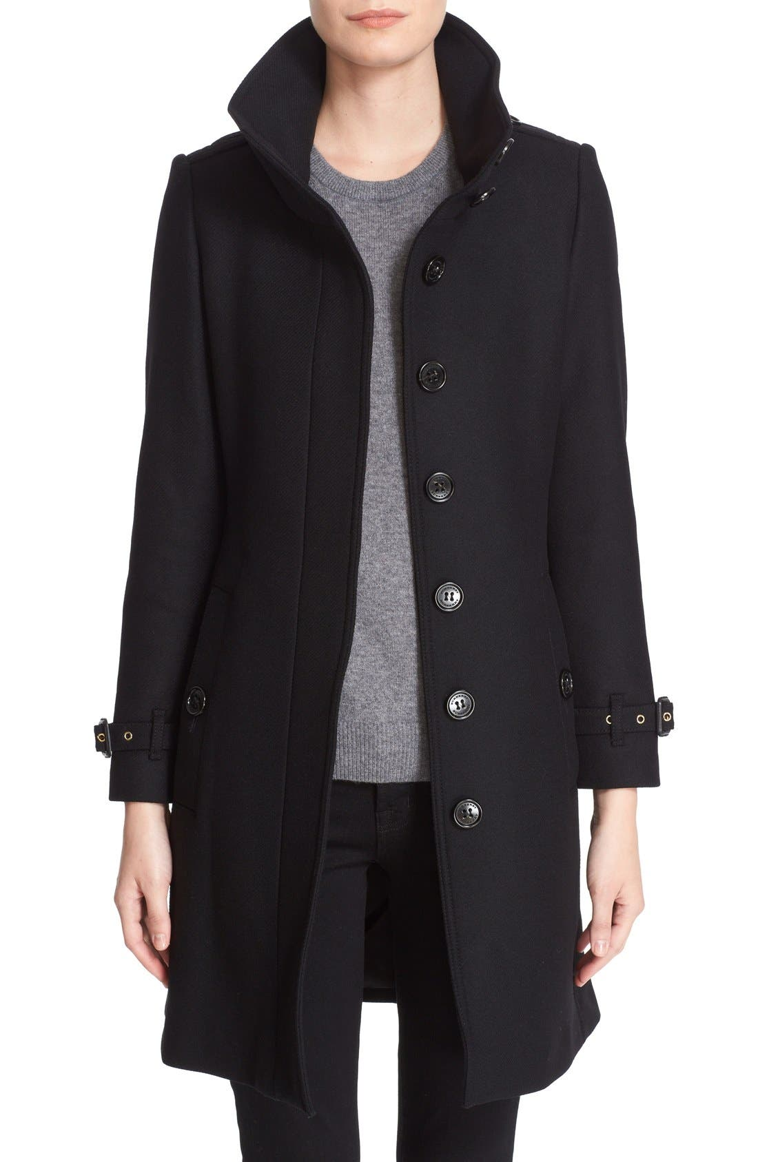 Burberry Gibbsmoore Funnel Collar Trench Coat | Nordstrom