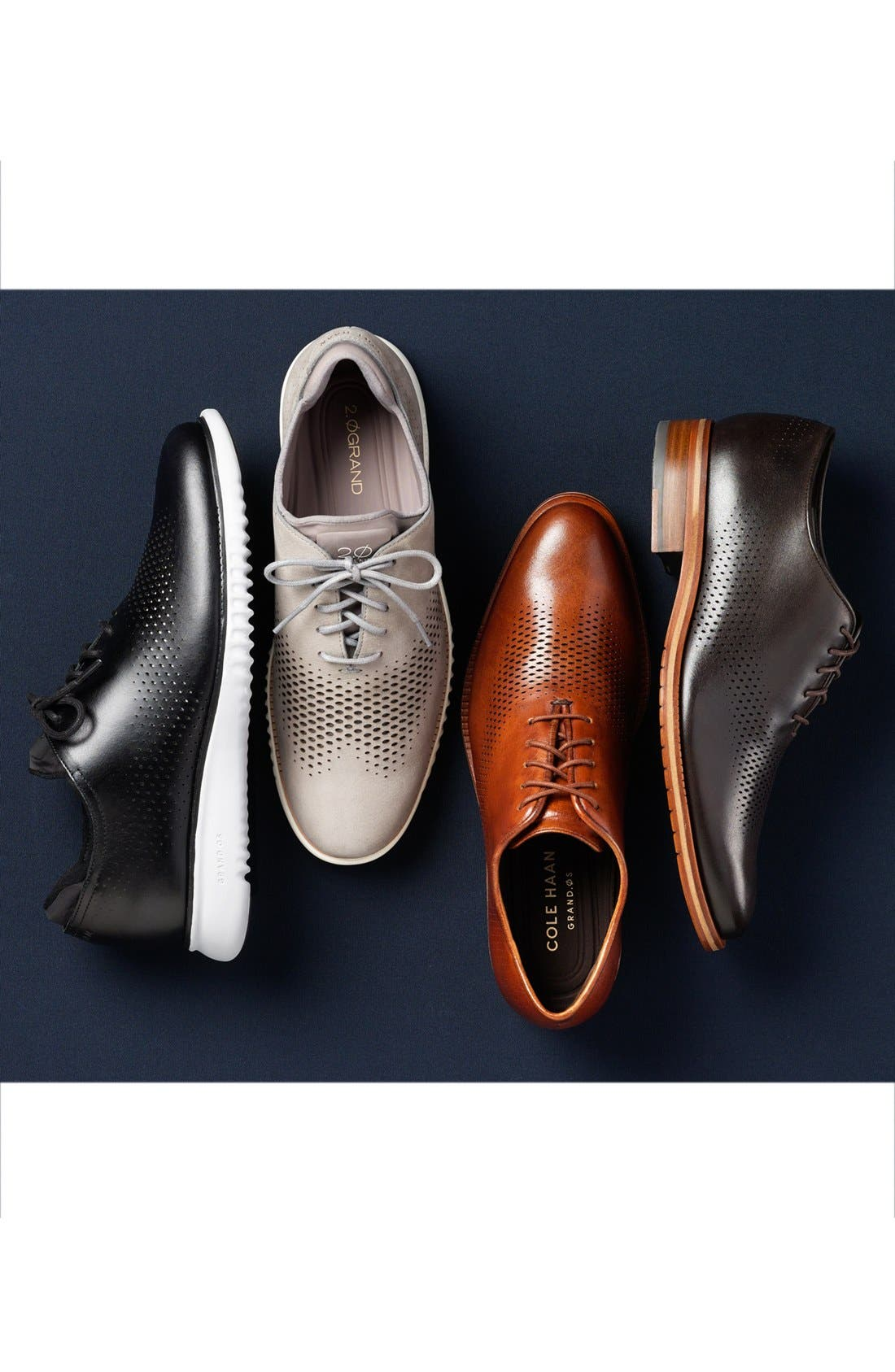 Alternate Image 5  - Cole Haan 'Washington' Plain Toe Oxford (Men)