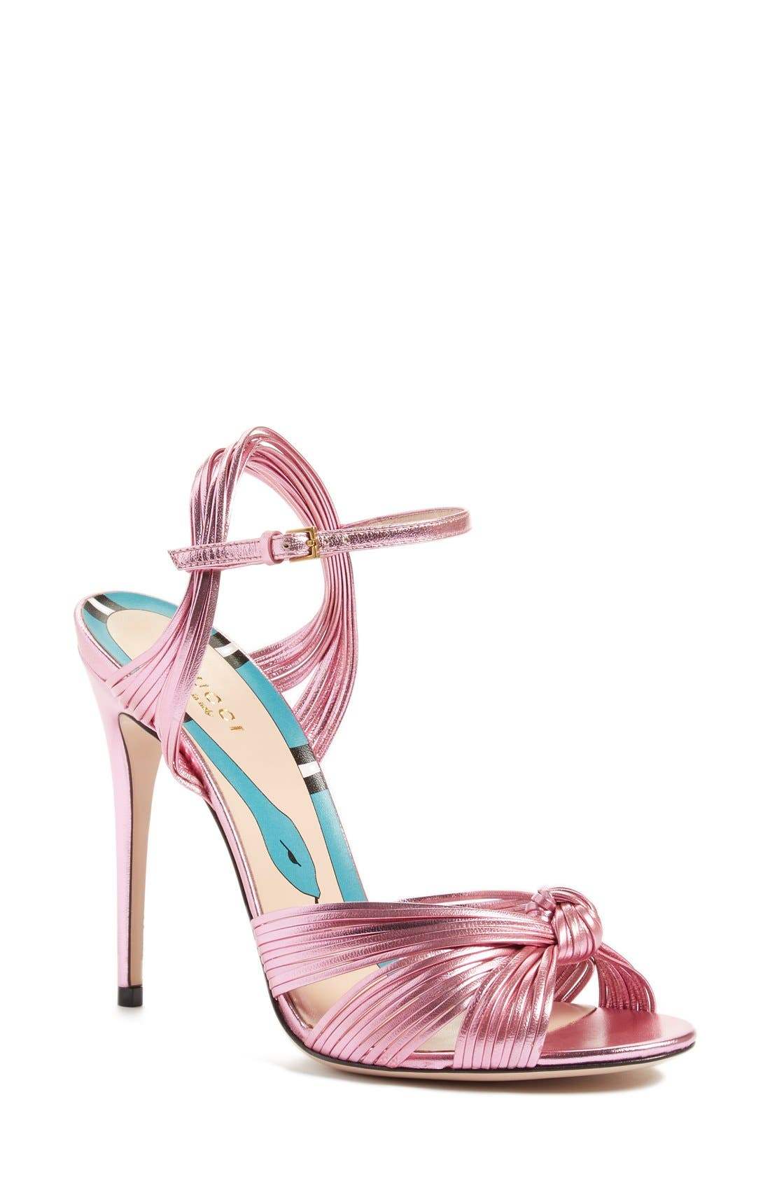 Gucci 'Allie' Peep Toe Pump (Women)