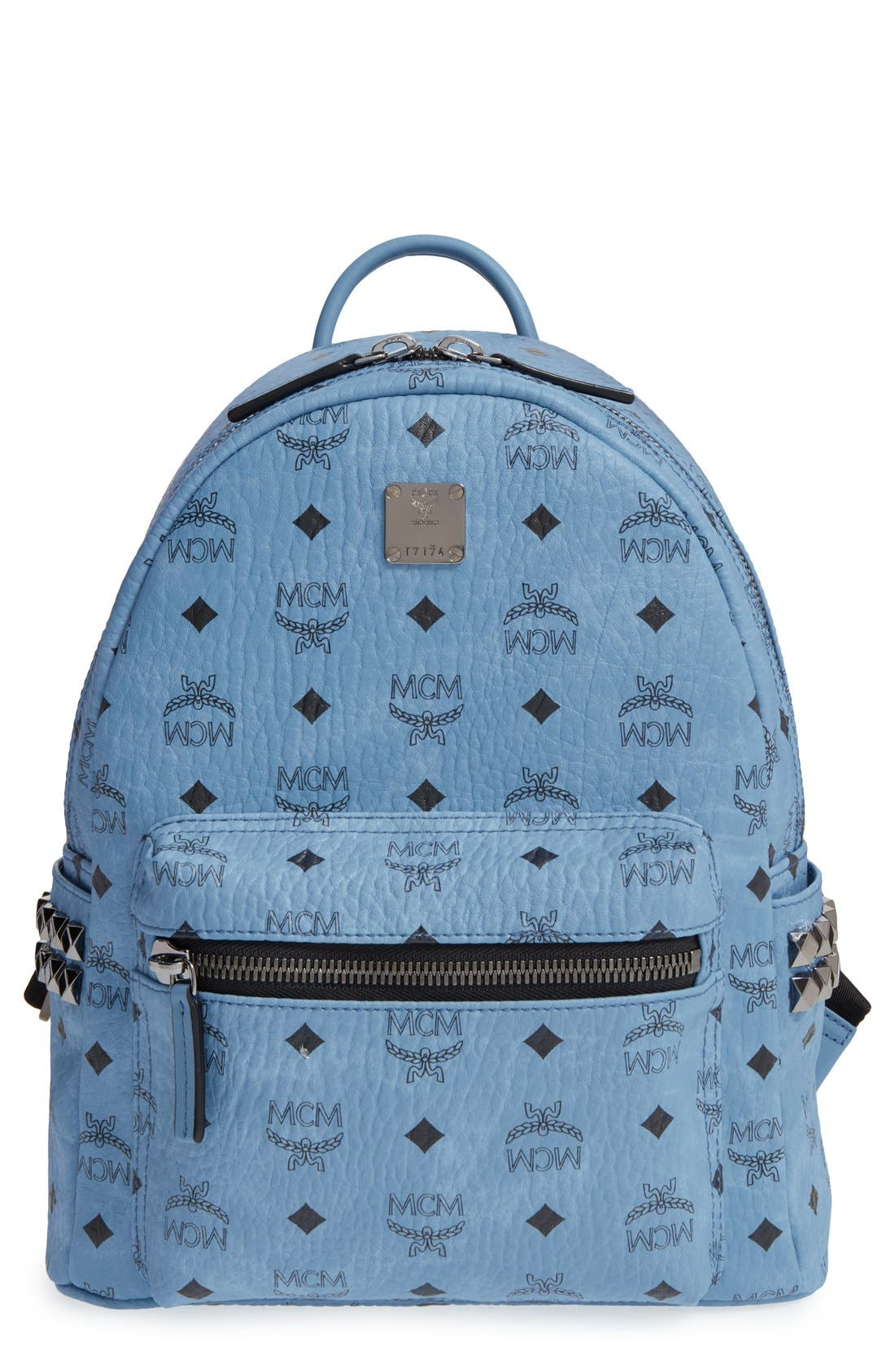 MCM Small Stark Side Stud Backpack