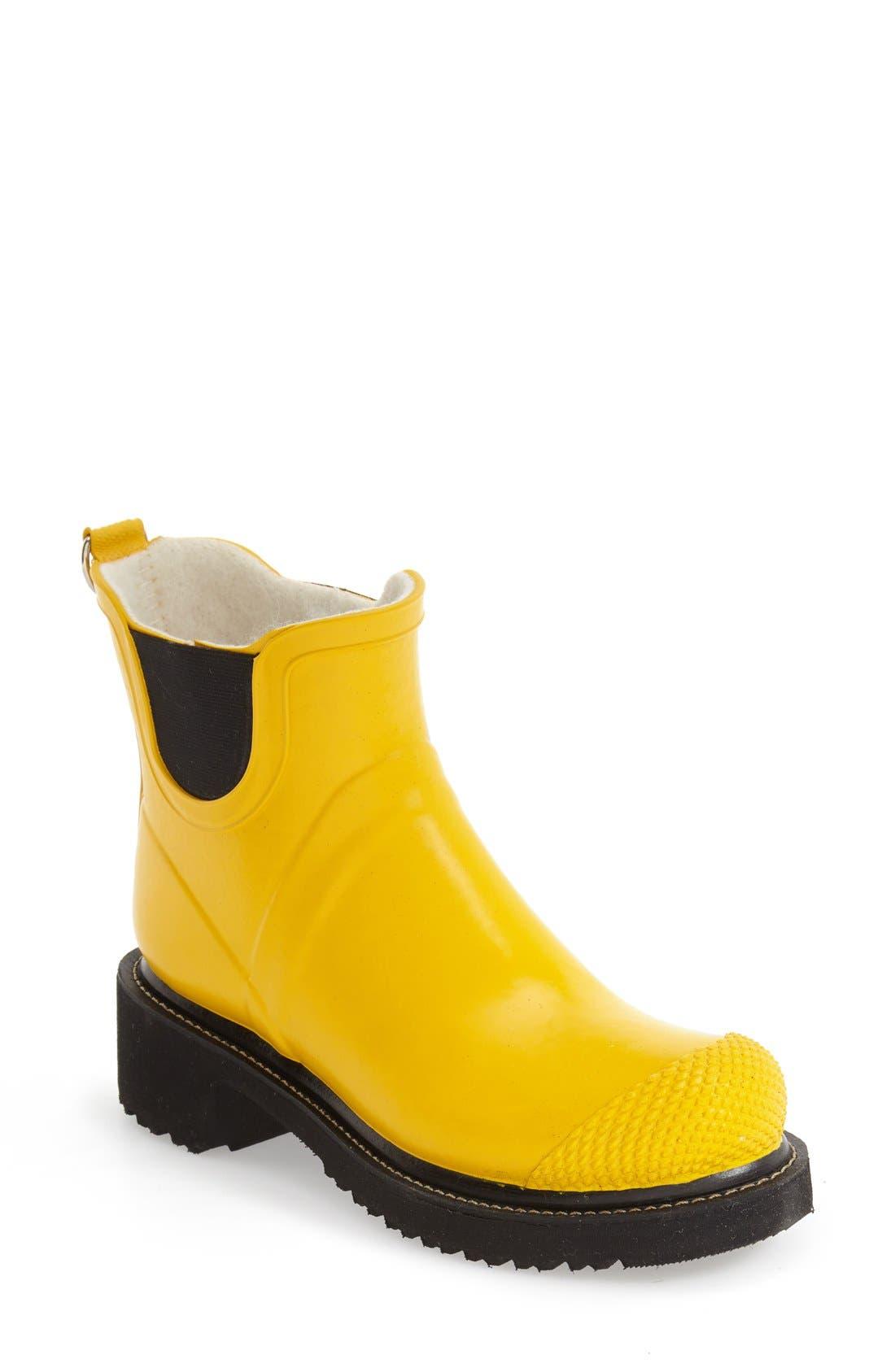 Main Image - Ilse Jacobsen Hornbaek 'RUB 47' Short Waterproof Rain Boot (Women)