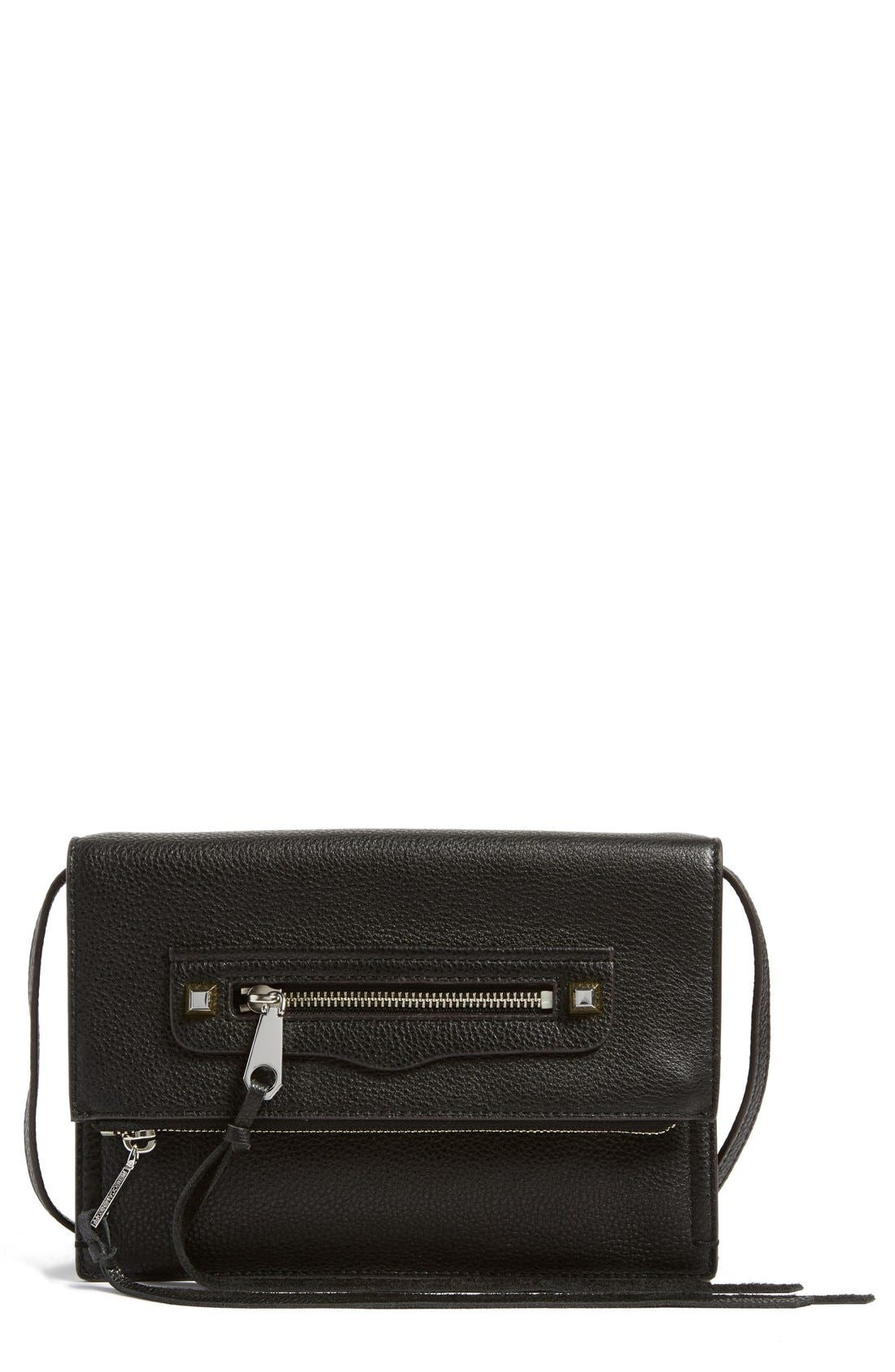 Main Image - Rebecca Minkoff Small Regan Crossbody Clutch