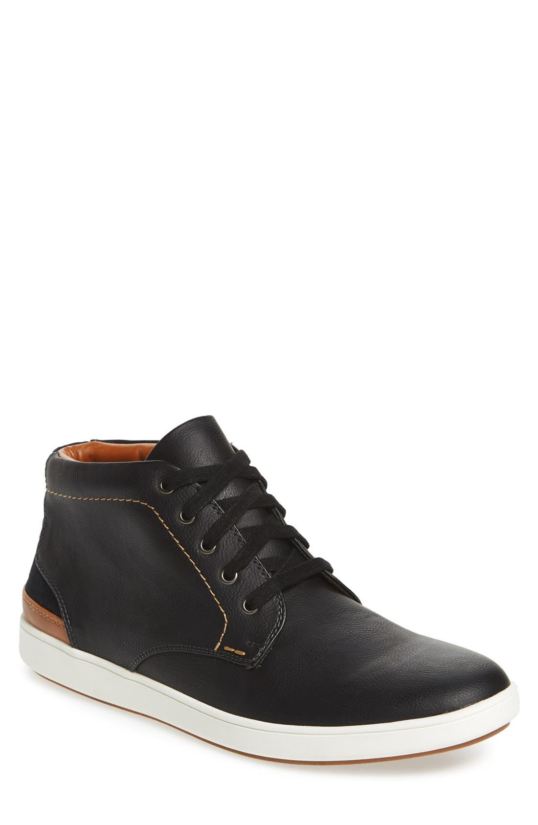 Freedomm Sneaker,                         Main,                         color, Black