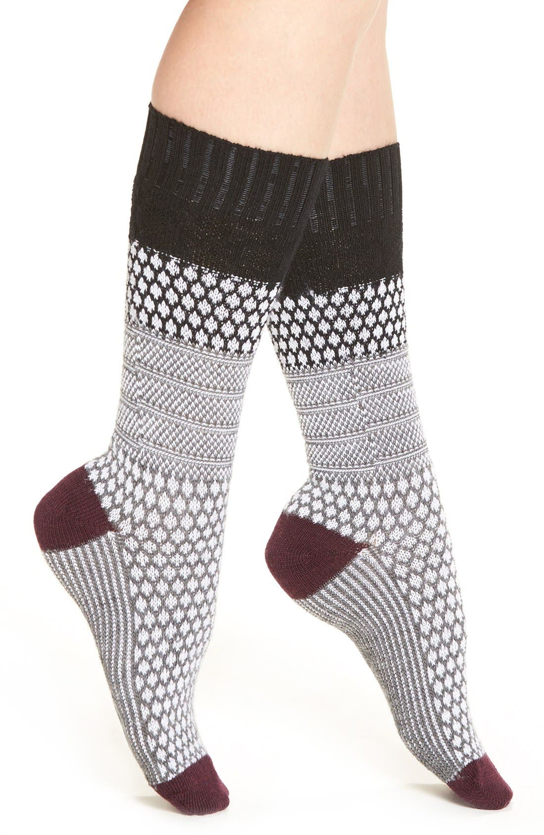 Main Image - Smartwool Popcorn Cable Crew Socks