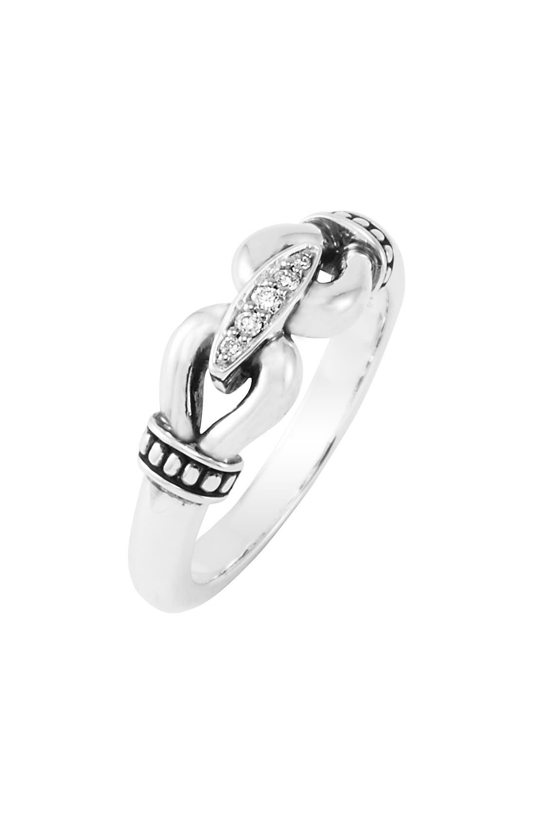 Main Image - LAGOS 'Derby' Small Diamond Ring