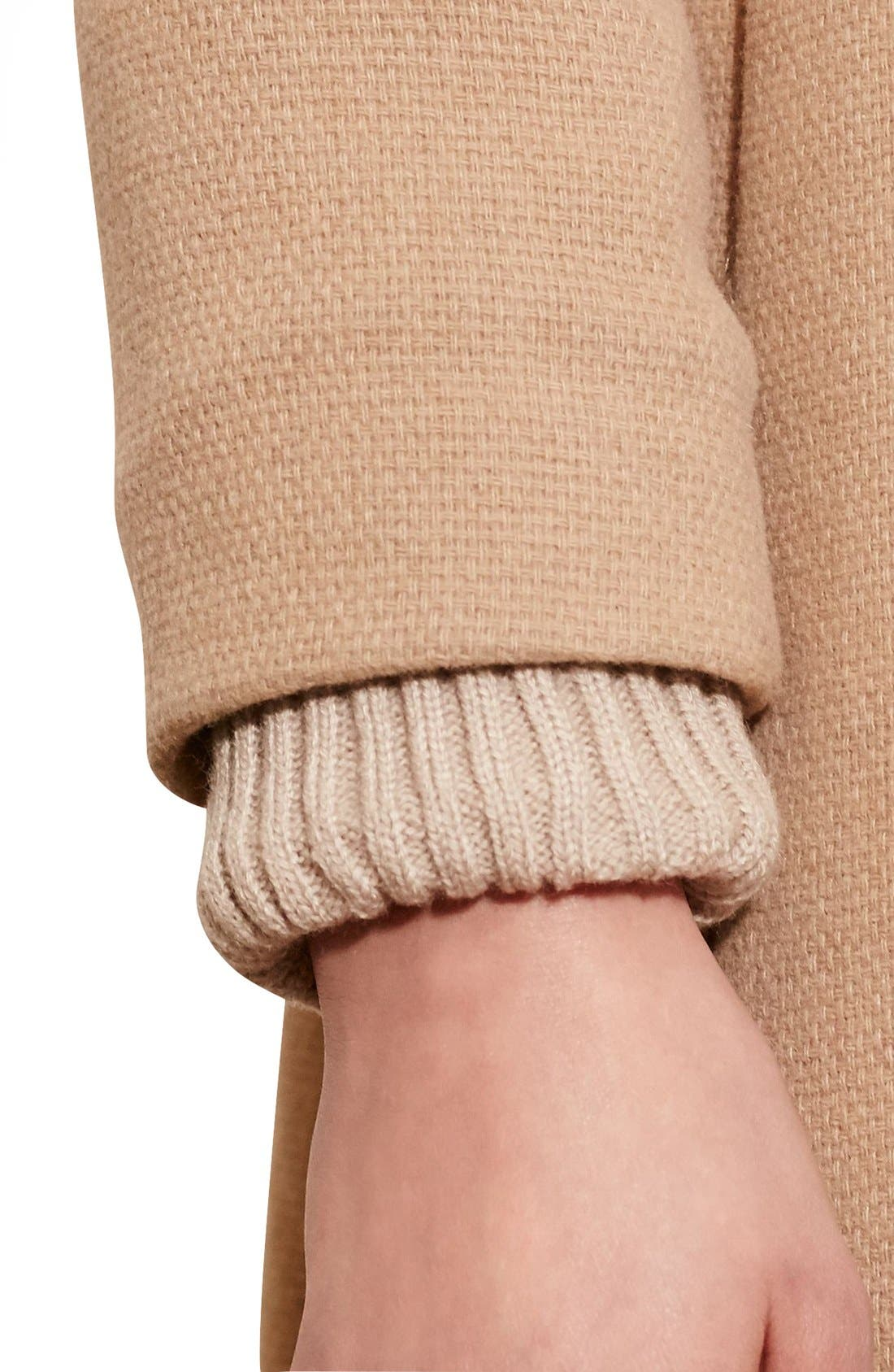 Alternate Image 4  - Lauren Ralph Lauren Funnel Neck Wool Coat