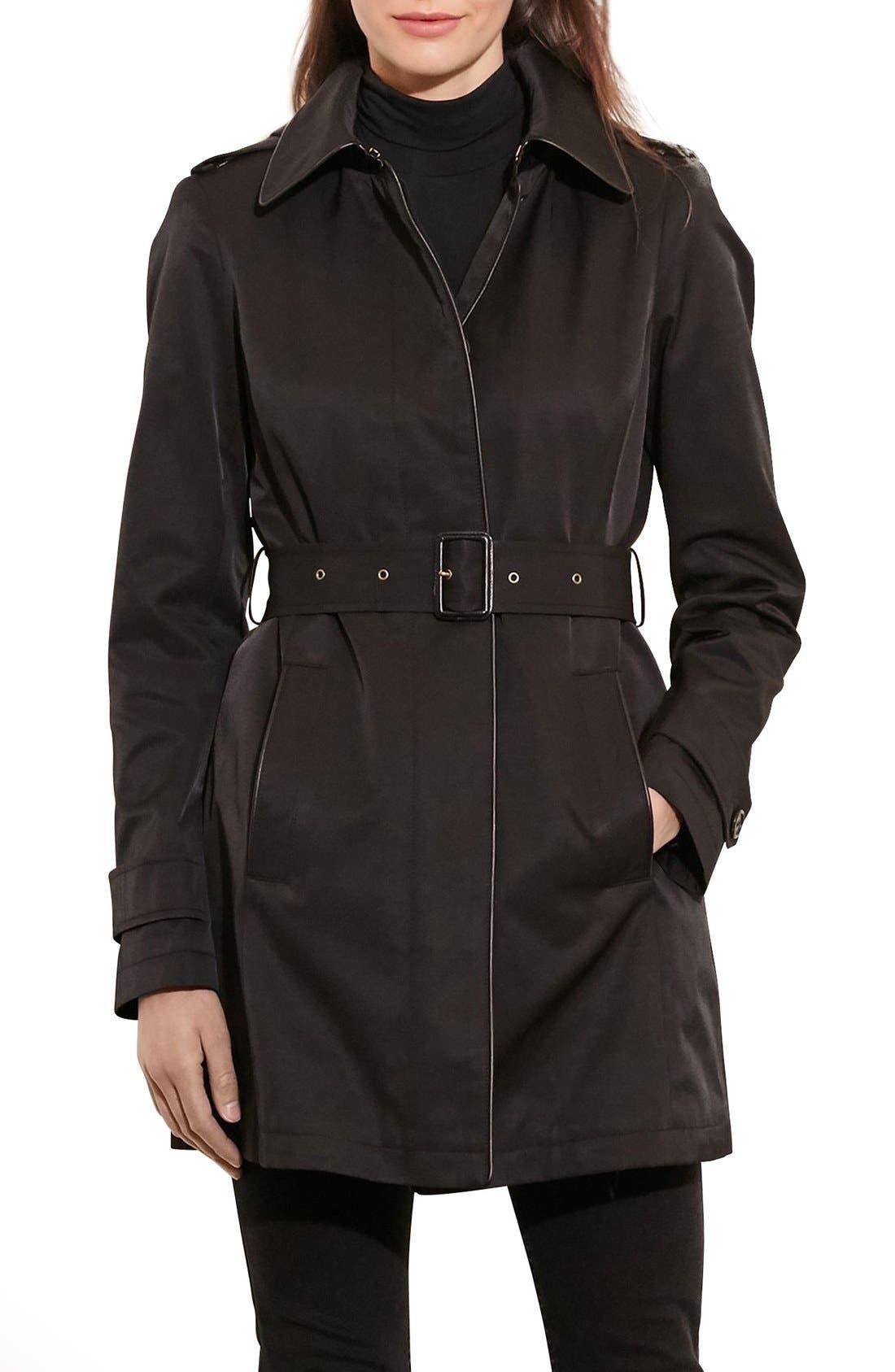 Lauren Ralph Lauren Hooded Raincoat