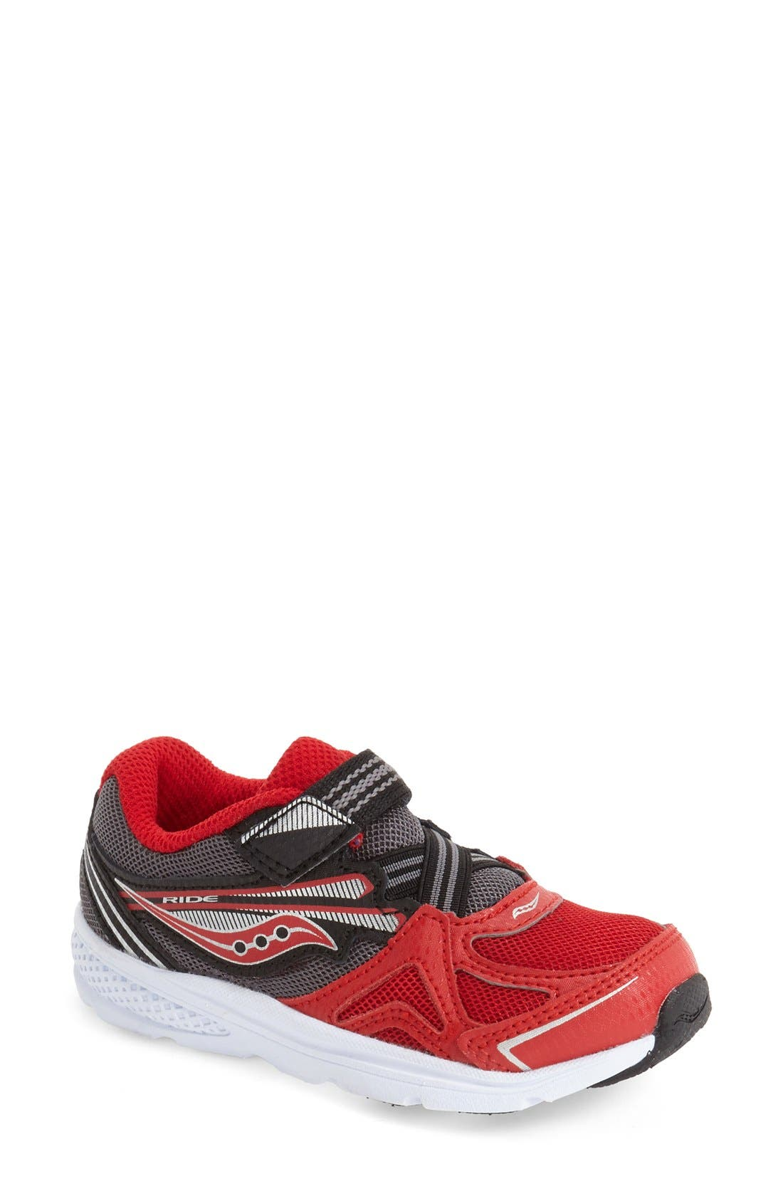 Alternate Image 1 Selected - Saucony 'Ride' Sneaker (Baby, Walker & Toddler)