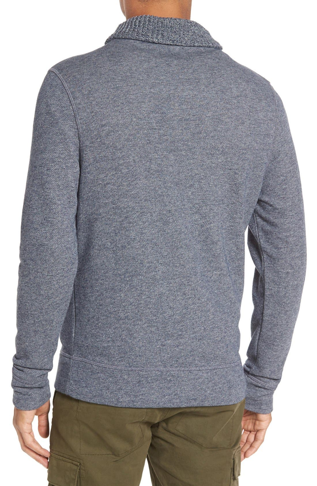 Alternate Image 2  - Billy Reid 'Shiloh' Shawl Collar Sweatshirt