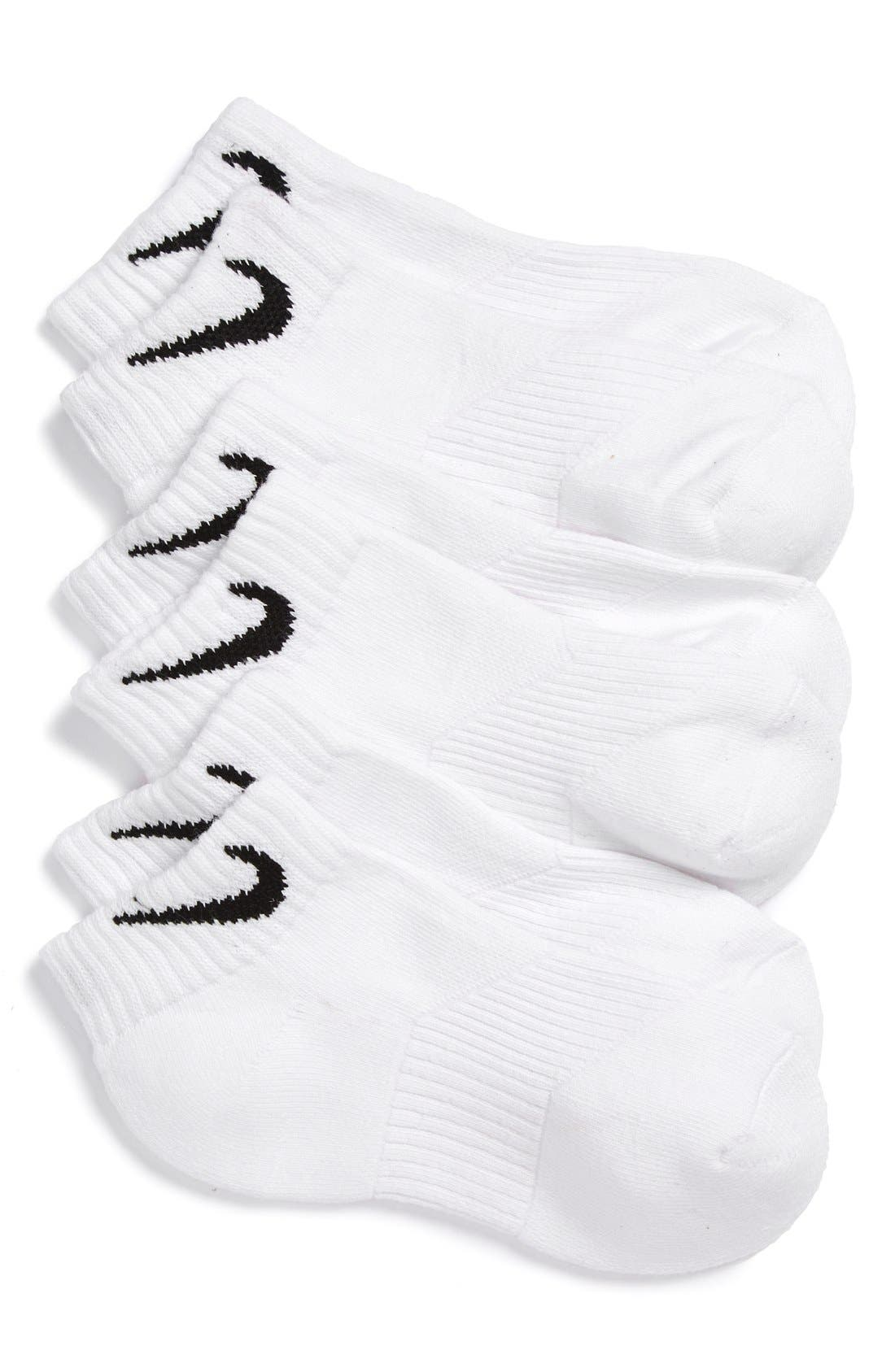 Nike 3-Pack Cushioned Low Cut Socks (Big Kid)