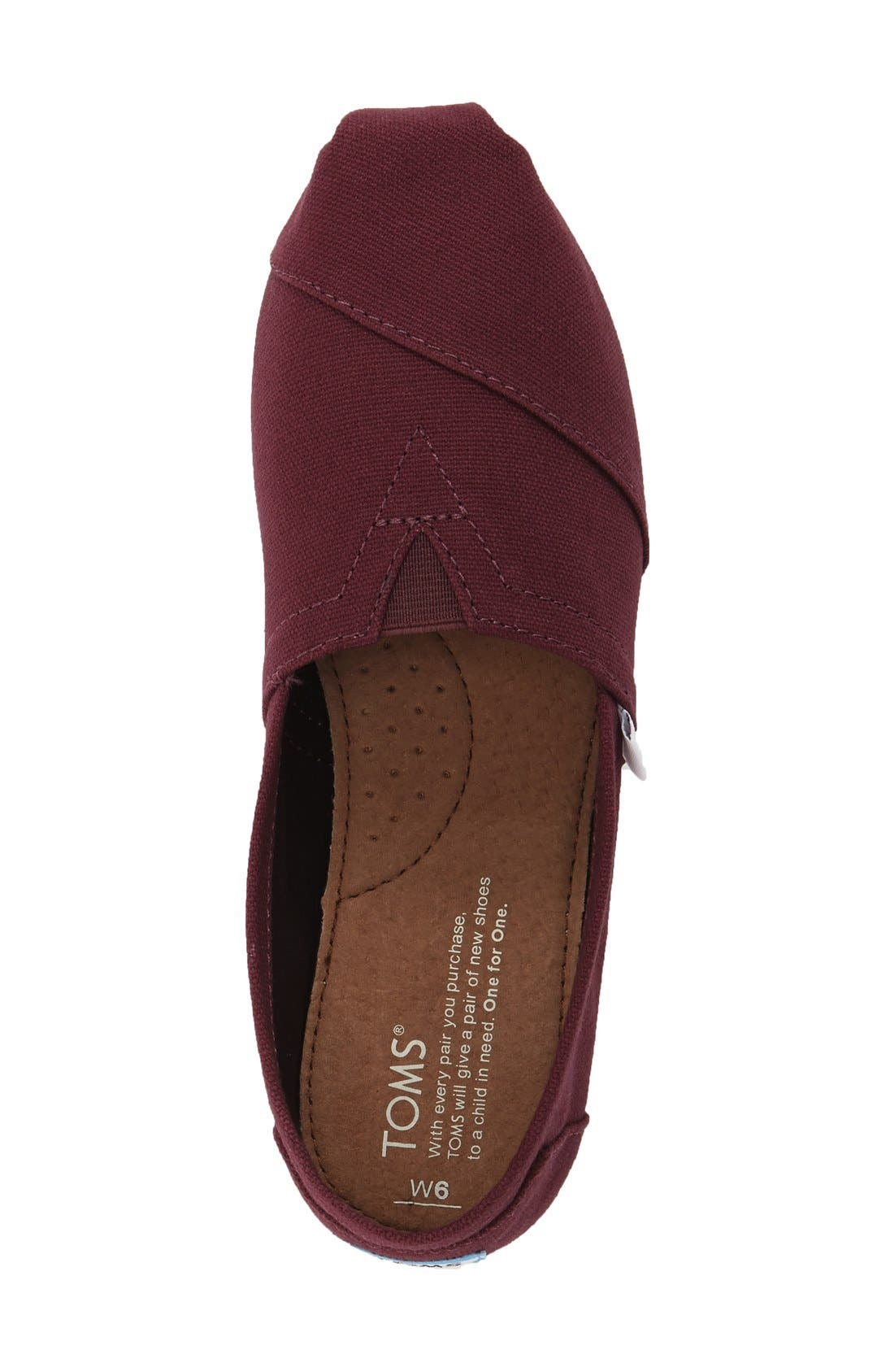 Alternate Image 3  - TOMS Classic Slip-On (Women)