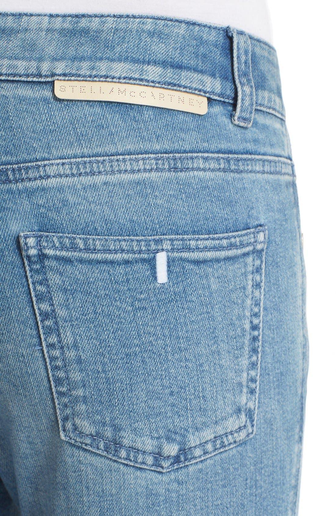 Alternate Image 4  - Stella McCartney Ankle Grazer Skinny Jeans