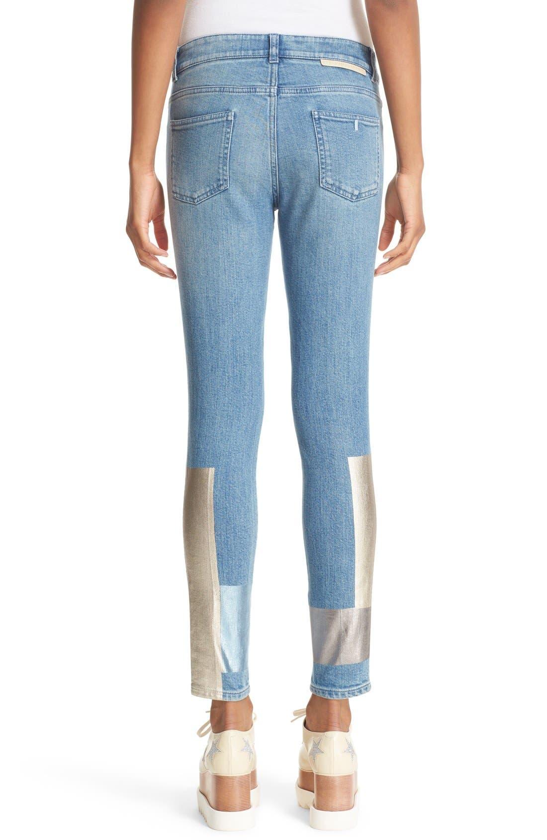 Alternate Image 2  - Stella McCartney Ankle Grazer Skinny Jeans