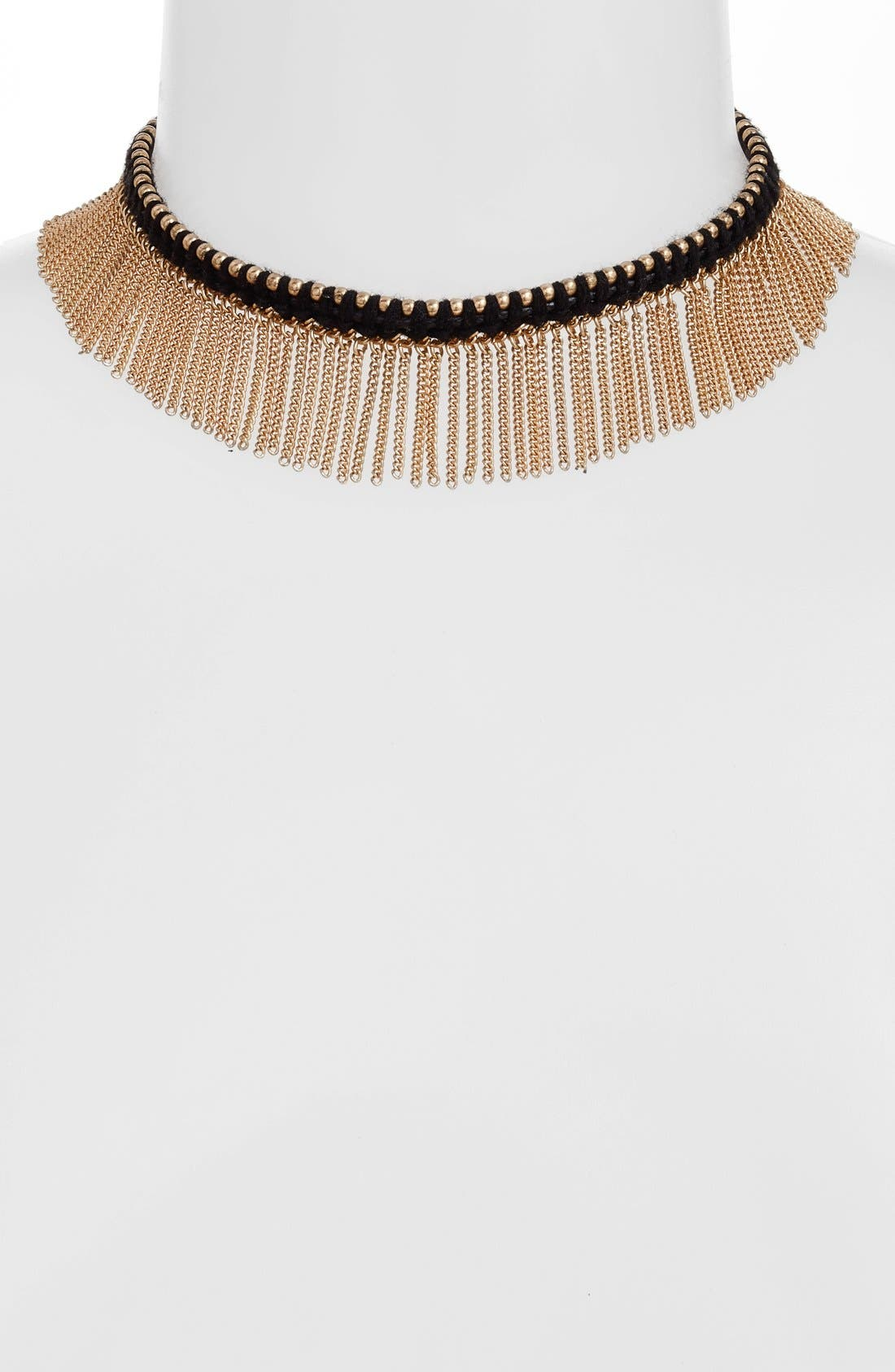 Treasure & Bond Fringe Choker