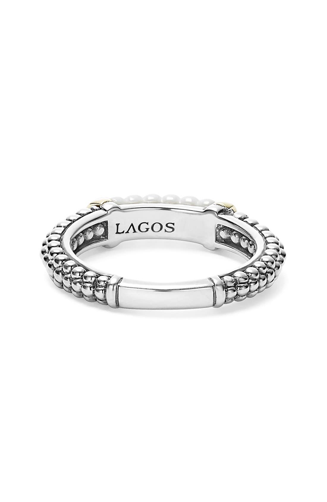 Alternate Image 2  - LAGOS 'Caviar' Stacking Ring