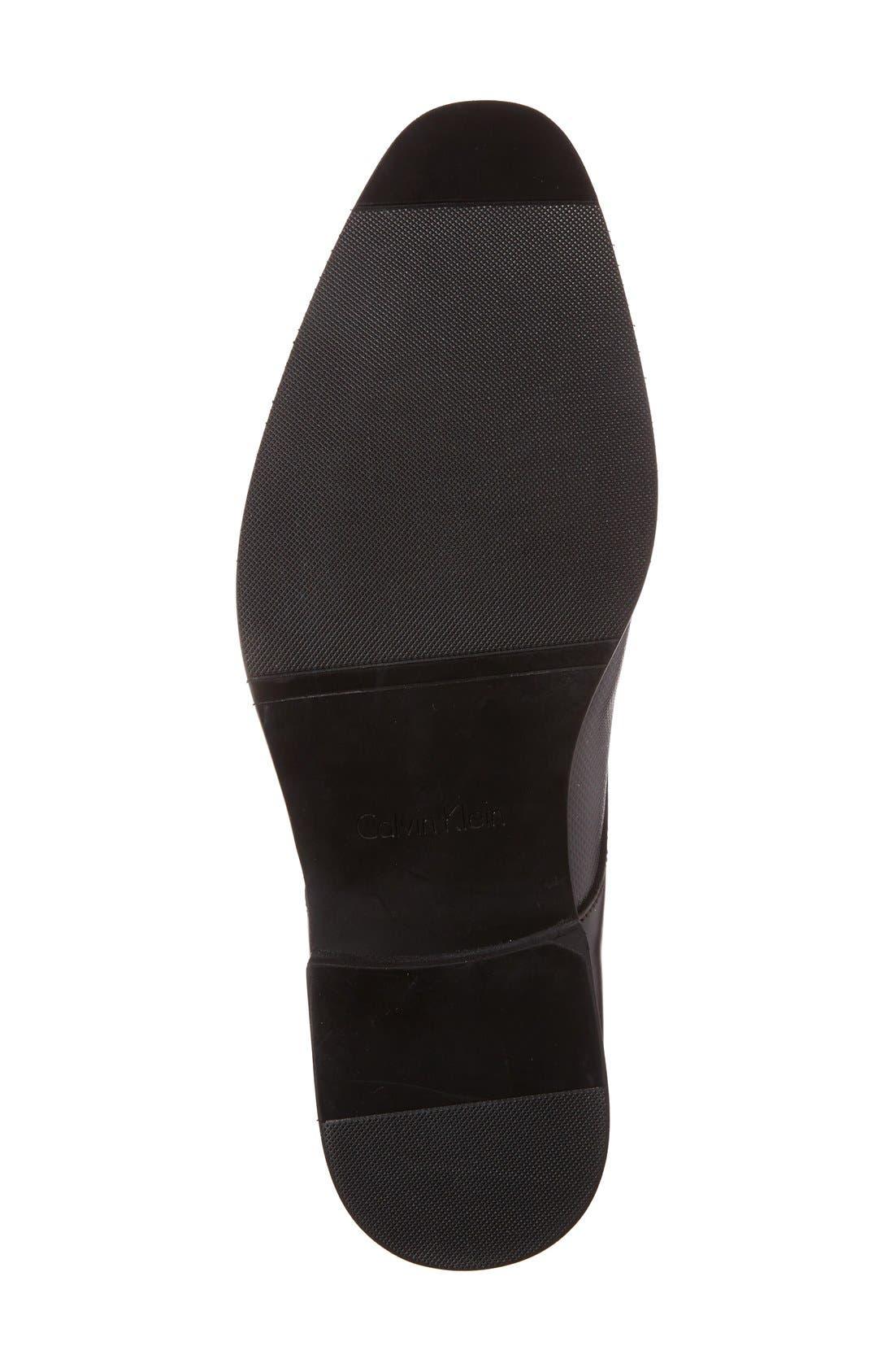 Alternate Image 4  - Calvin Klein 'Ramses' Plain Toe Derby (Men)
