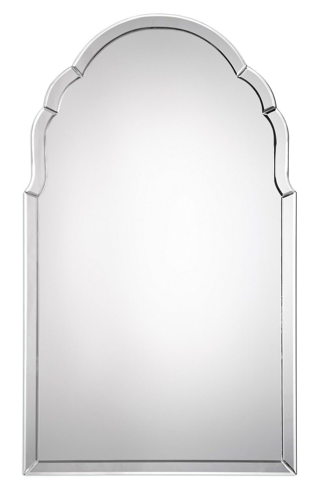 Main Image - Uttermost Frameless Arch Mirror