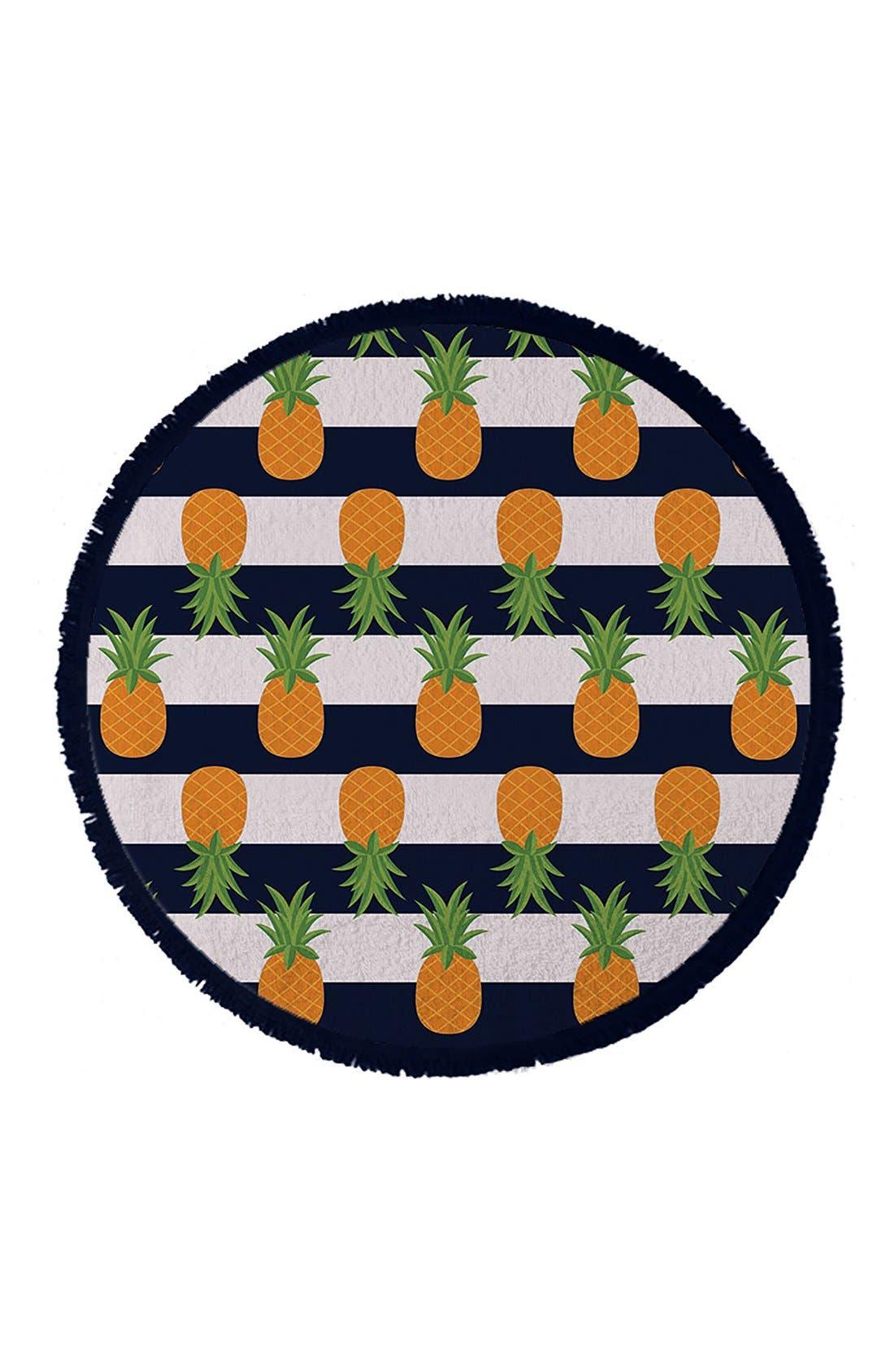 Round Towel Co. Nautical Pineapple Towel