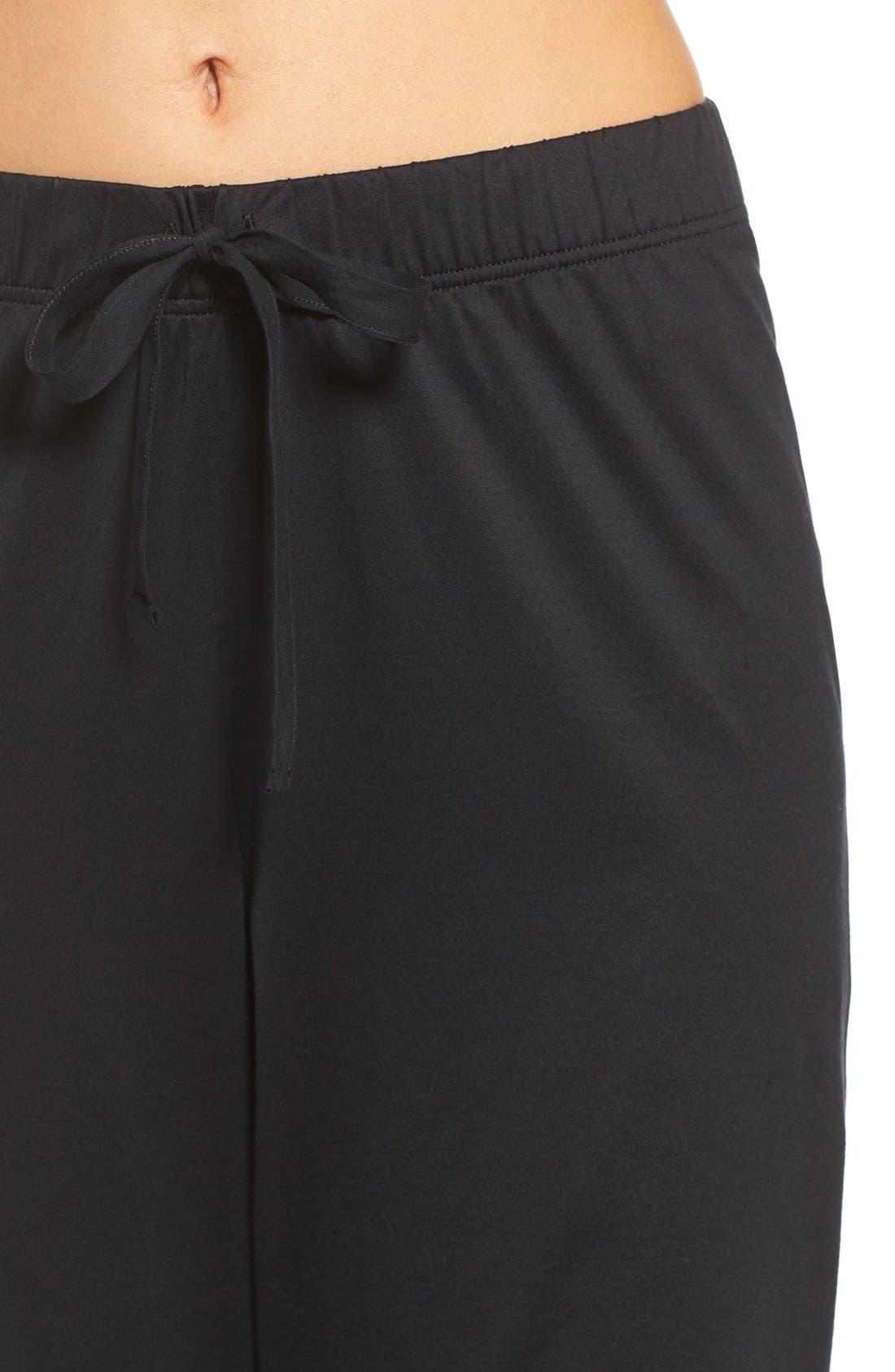 Alternate Image 4  - Hanro Cotton Lounge Pants