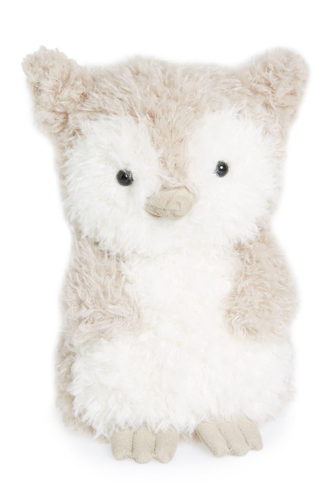 'Wake Up Little Owl' Stuffed Animal,                         Main,                         color, Grey
