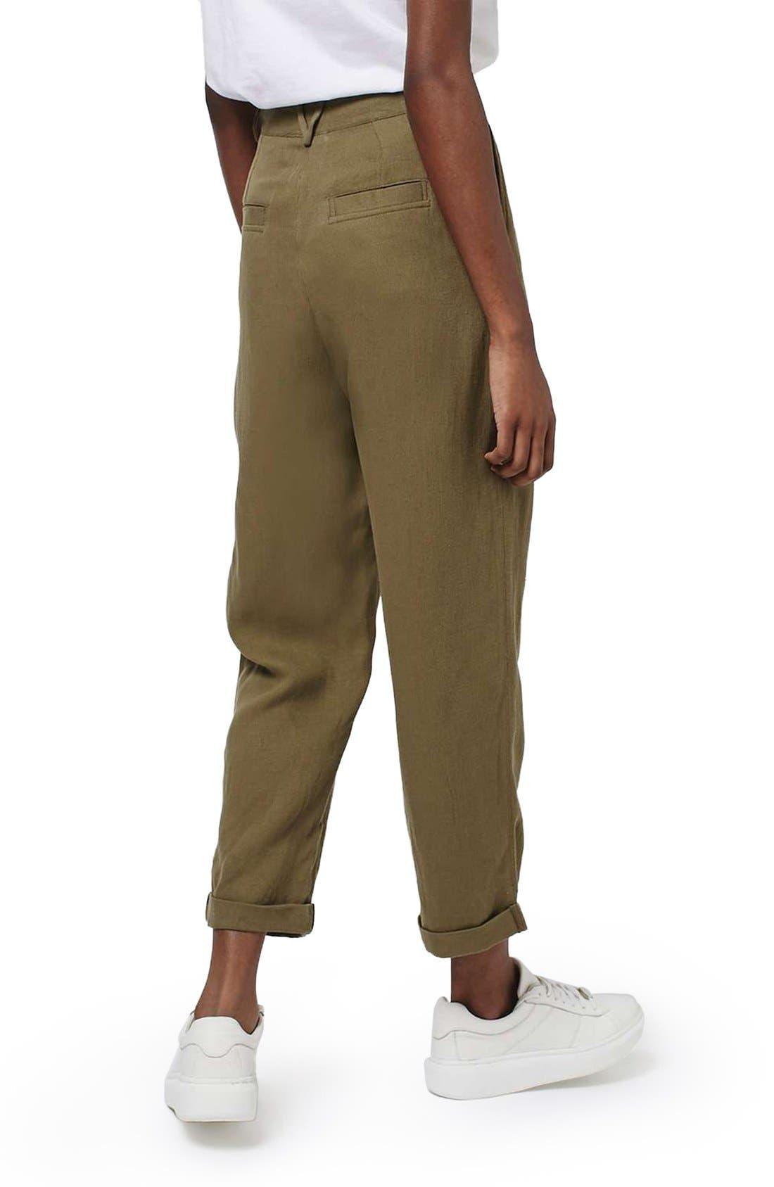 Alternate Image 2  - Topshop 'Mensy' Corduroy Peg Trousers