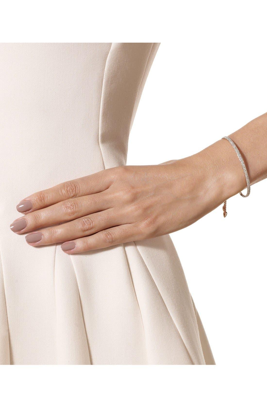 'Fiji' Diamond Station Bracelet,                             Alternate thumbnail 2, color,                             Rose Gold