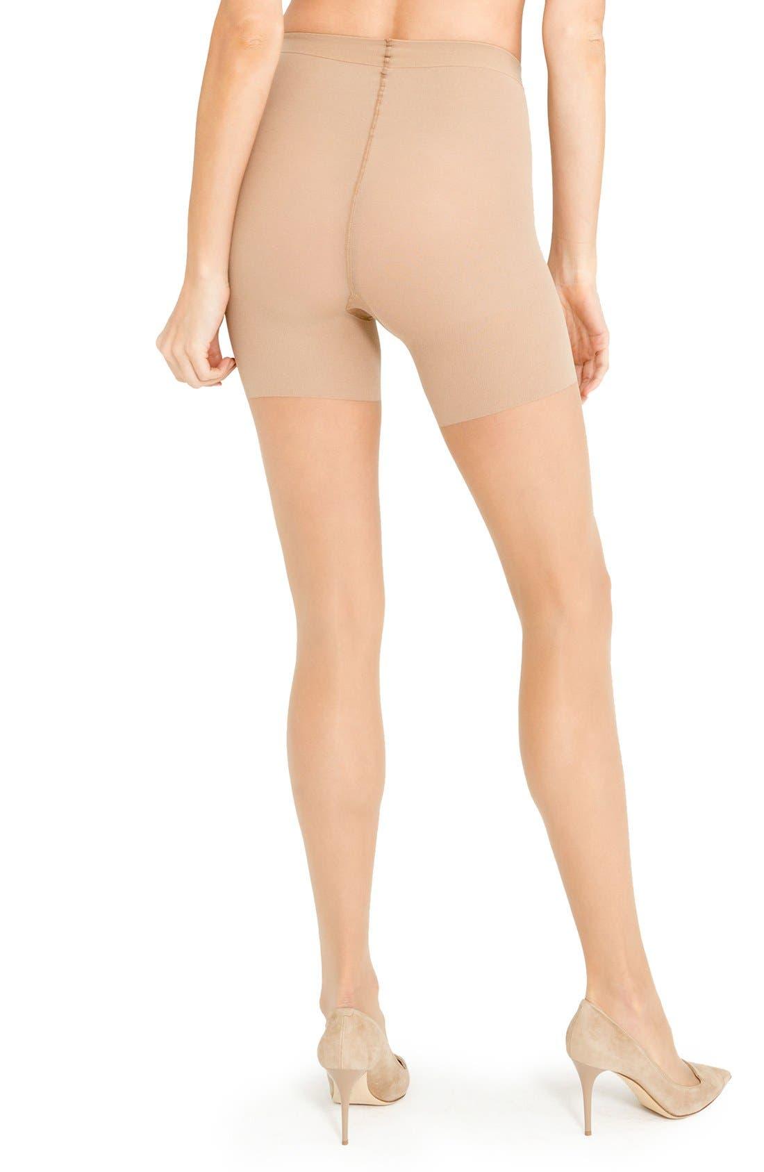 Alternate Image 2  - SPANX® Luxe Leg Pantyhose