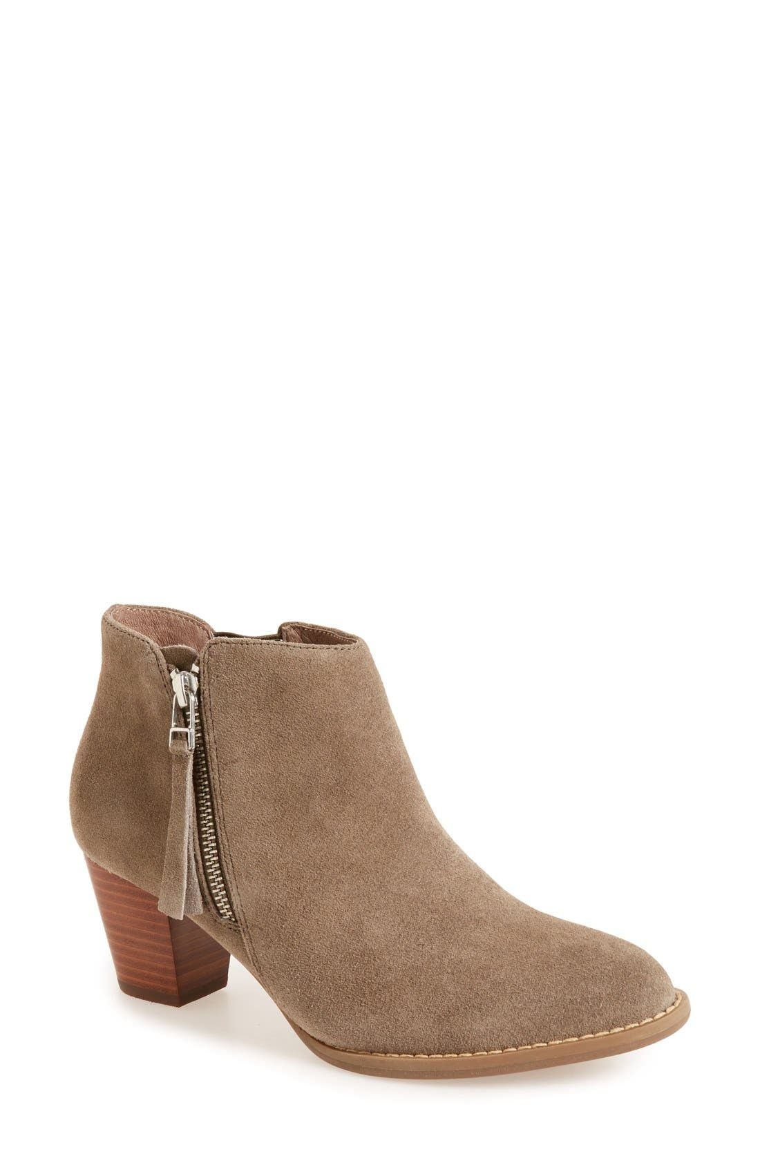'Sterling' Boot,                         Main,                         color, Greige Leather