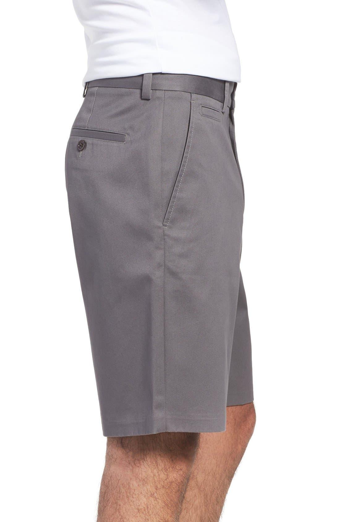 Alternate Image 3  - Nordstrom Men's Shop Smartcare™ Flat Front Shorts