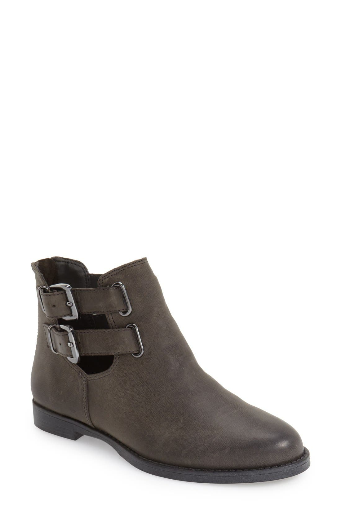 Bella Vita 'Ramona' Double Buckle Bootie (Women)