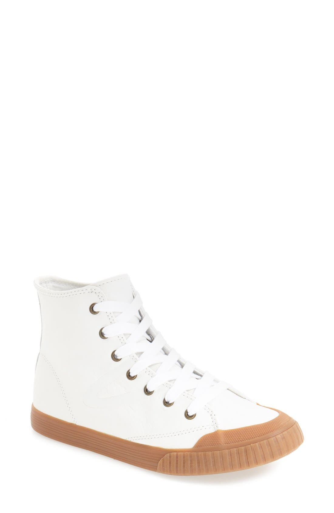 Marley 2 High Top Sneaker,                             Main thumbnail 1, color,                             White