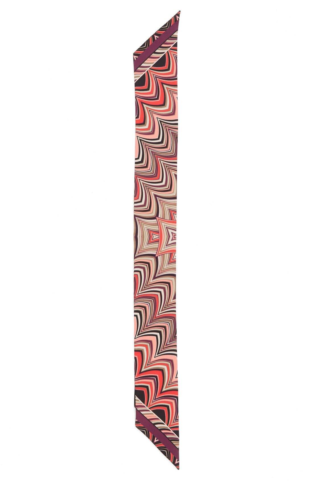 Main Image - Missoni Print Silk Skinny Scarf