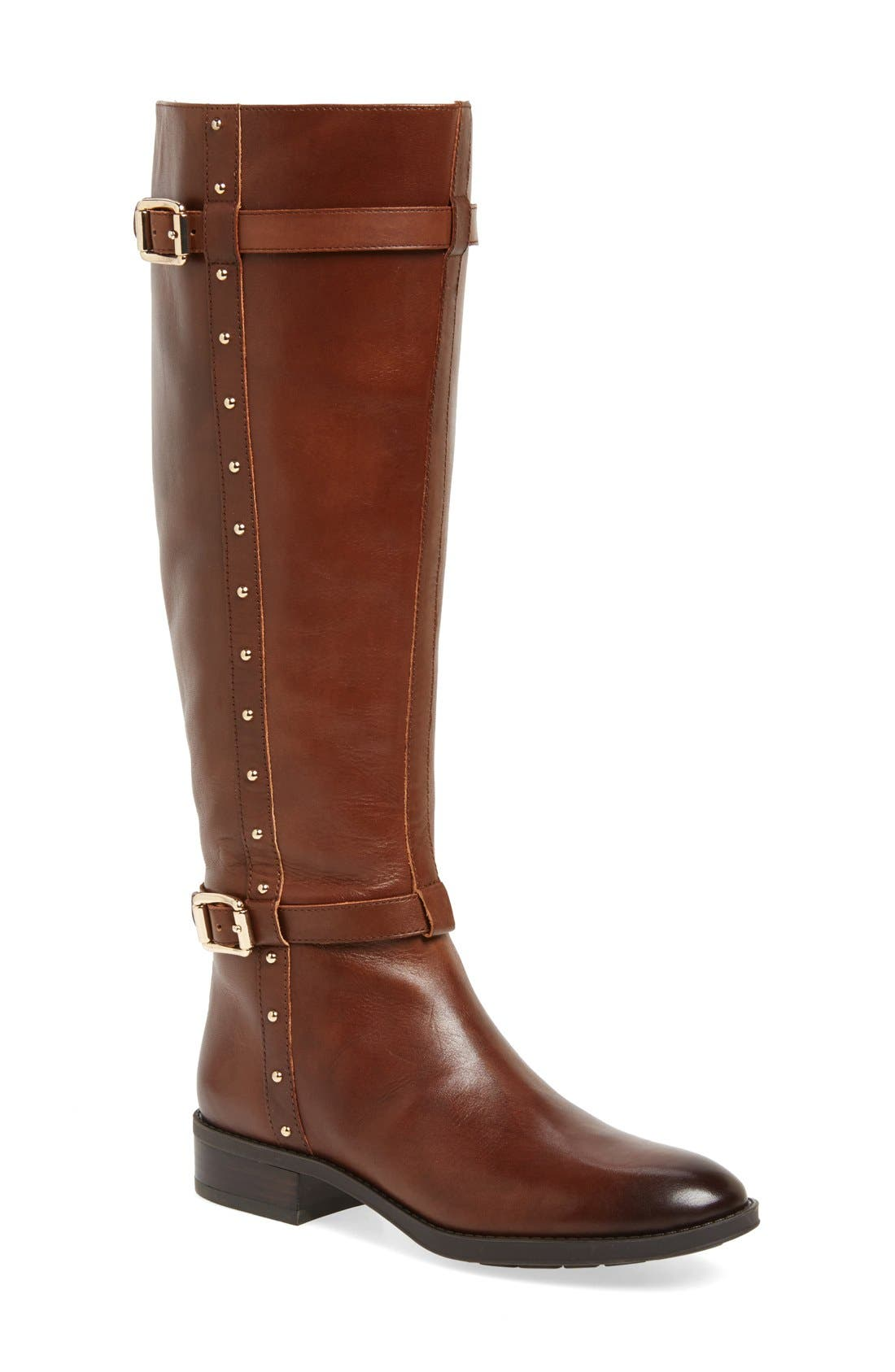 Main Image - Vince Camuto 'Preslen' Riding Boot (Women) (Wide Calf)