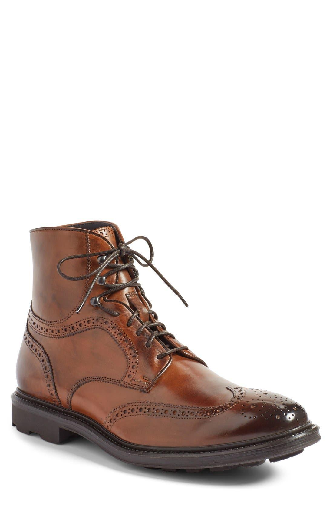 Alternate Image 1 Selected - To Boot New York 'Hobson' Wingtip Boot (Men)