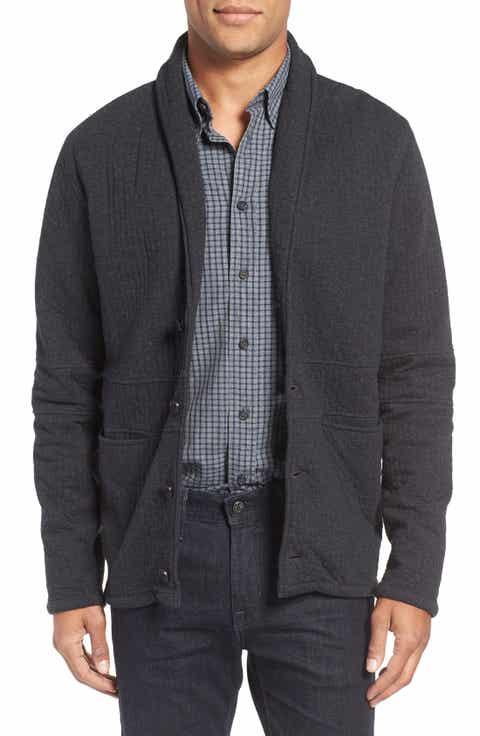 Men's Black Cardigan Sweaters & Jackets | Nordstrom