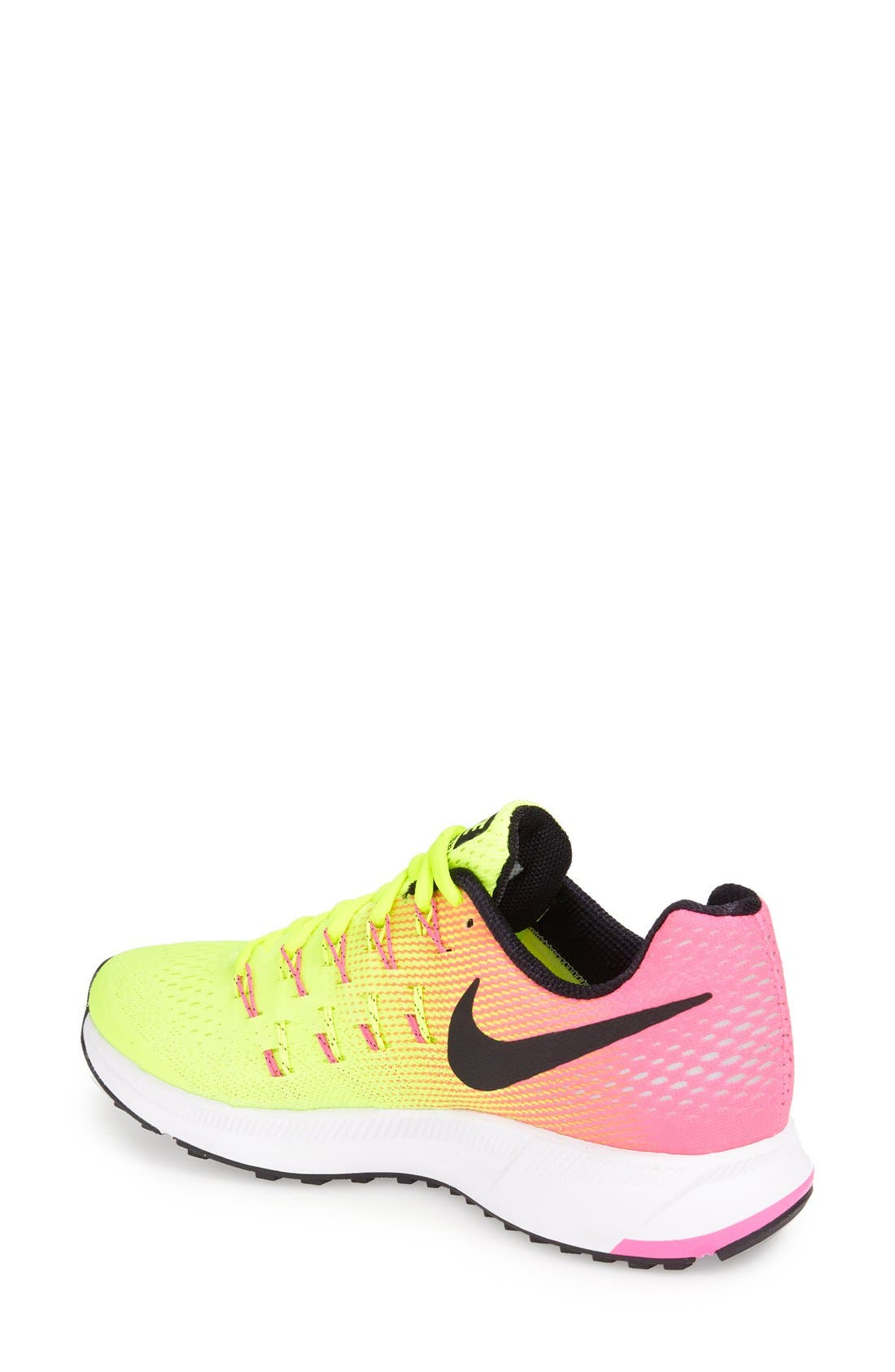 Alternate Image 2  - Nike 'Air Zoom Pegasus 33' Sneaker (Women)