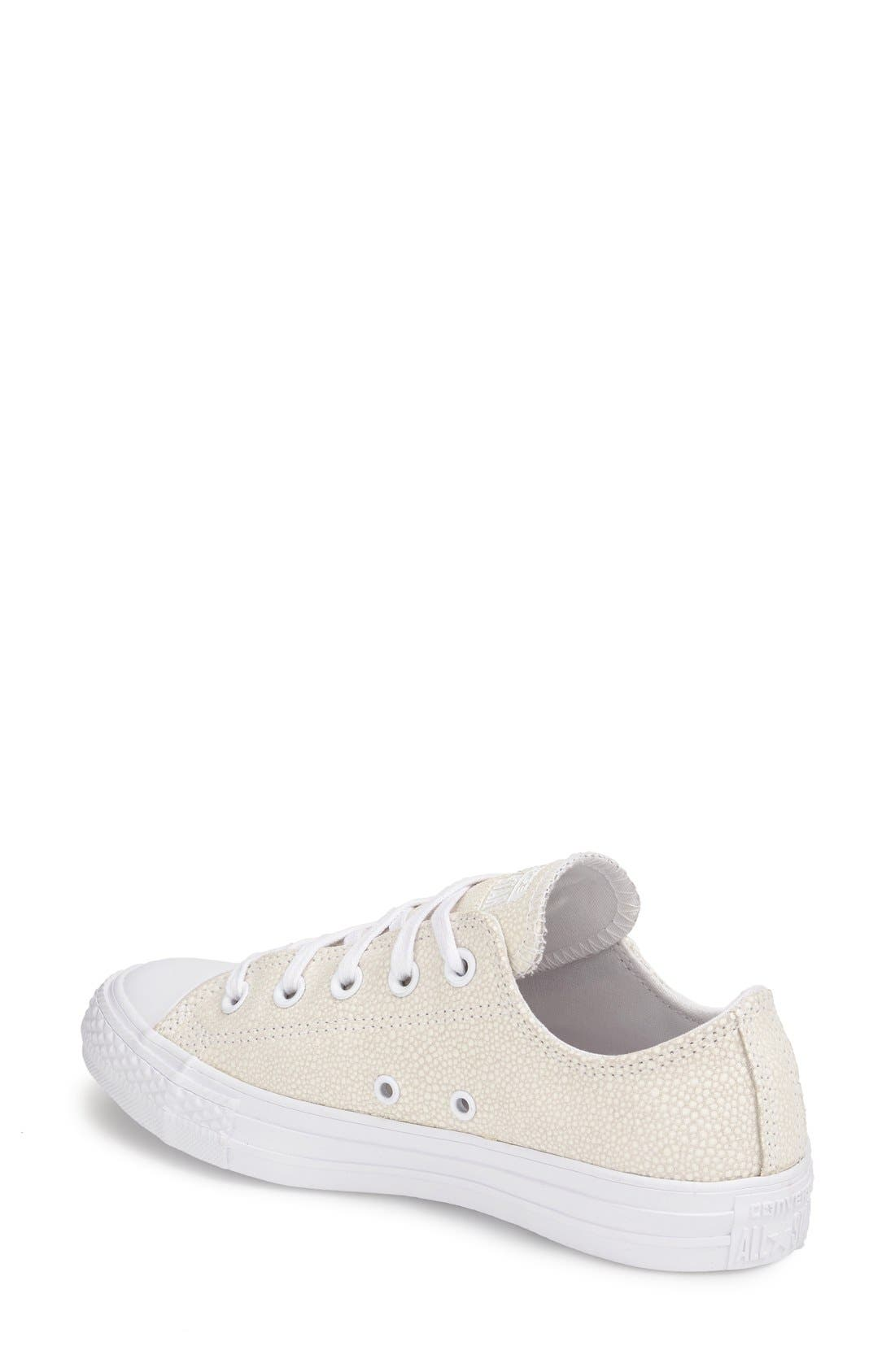 Alternate Image 2  - Converse Chuck Taylor® All Star® 'Stingray - Ox' Low Top Sneaker (Women)