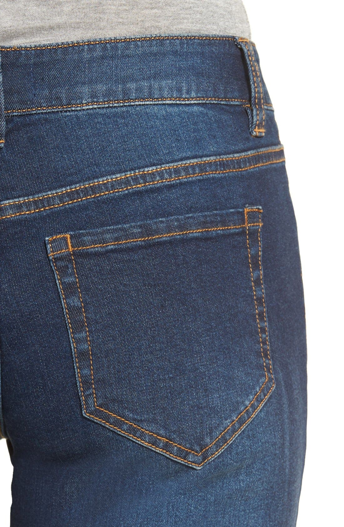 Alternate Image 5  - BP. Mid Rise Skinny Jeans