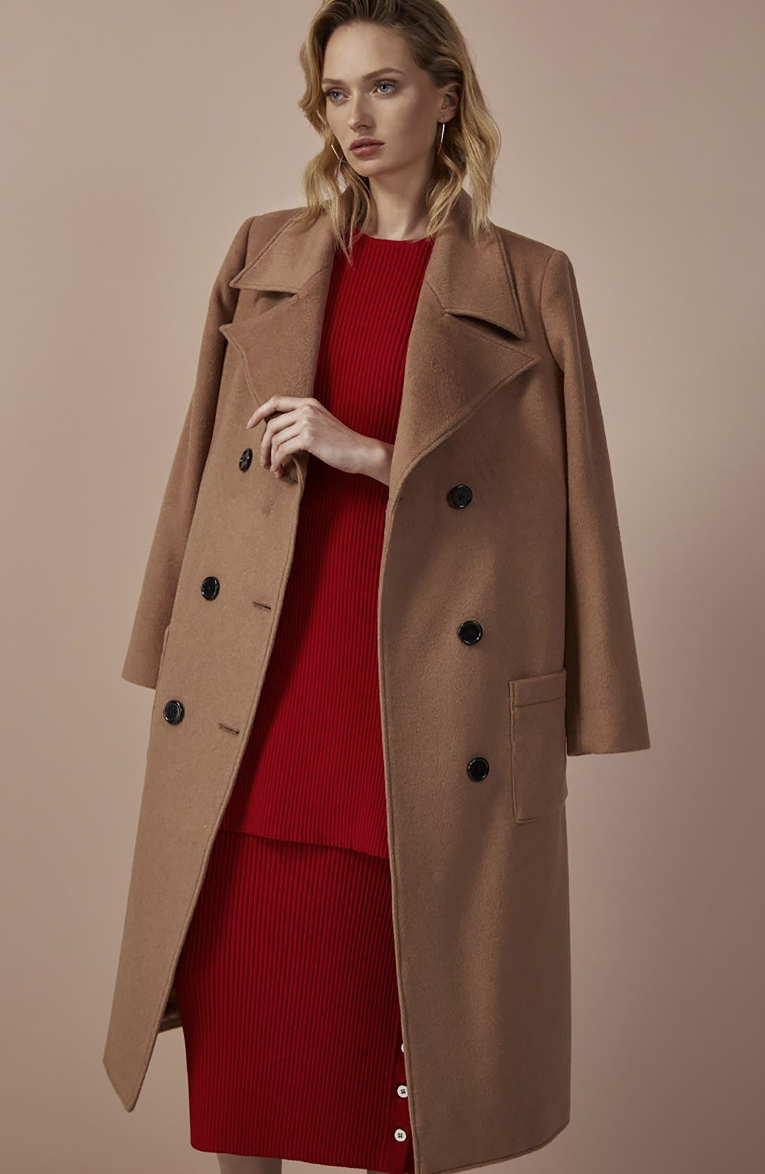 Alternate Image 2  - C/MEO Collective 'The Glory' Wool Blend Trench Coat