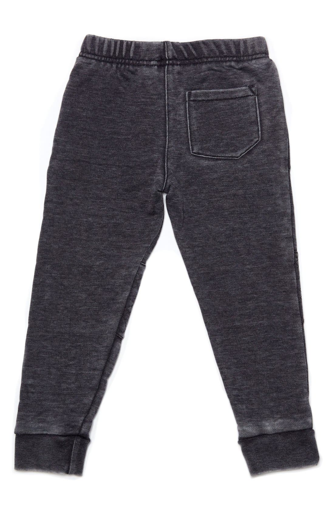 Quilted Jogger Pants,                             Alternate thumbnail 2, color,                             Grey