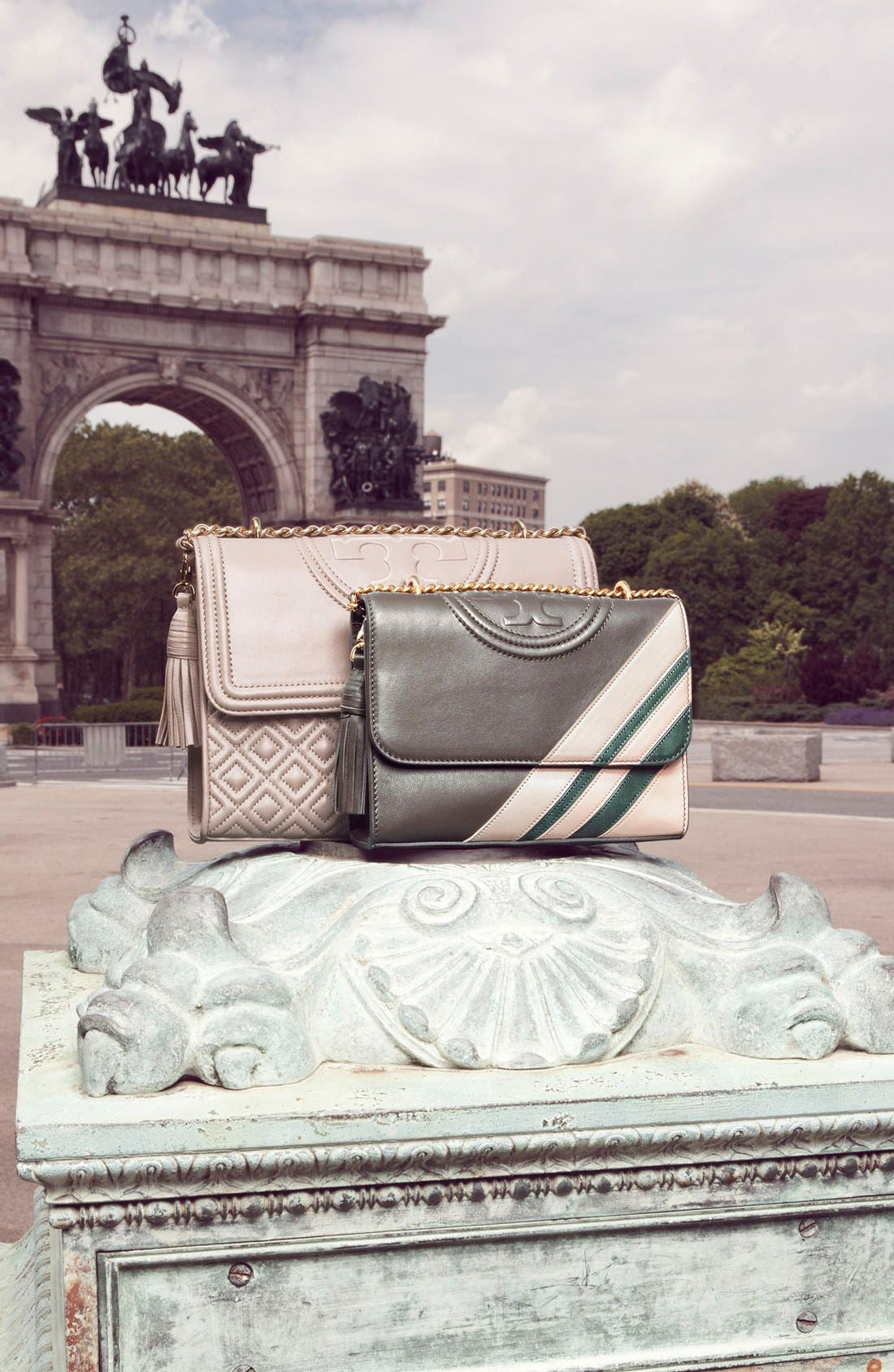 Alternate Image 7  - Tory Burch 'Fleming Stripe' Convertible Crossbody Bag