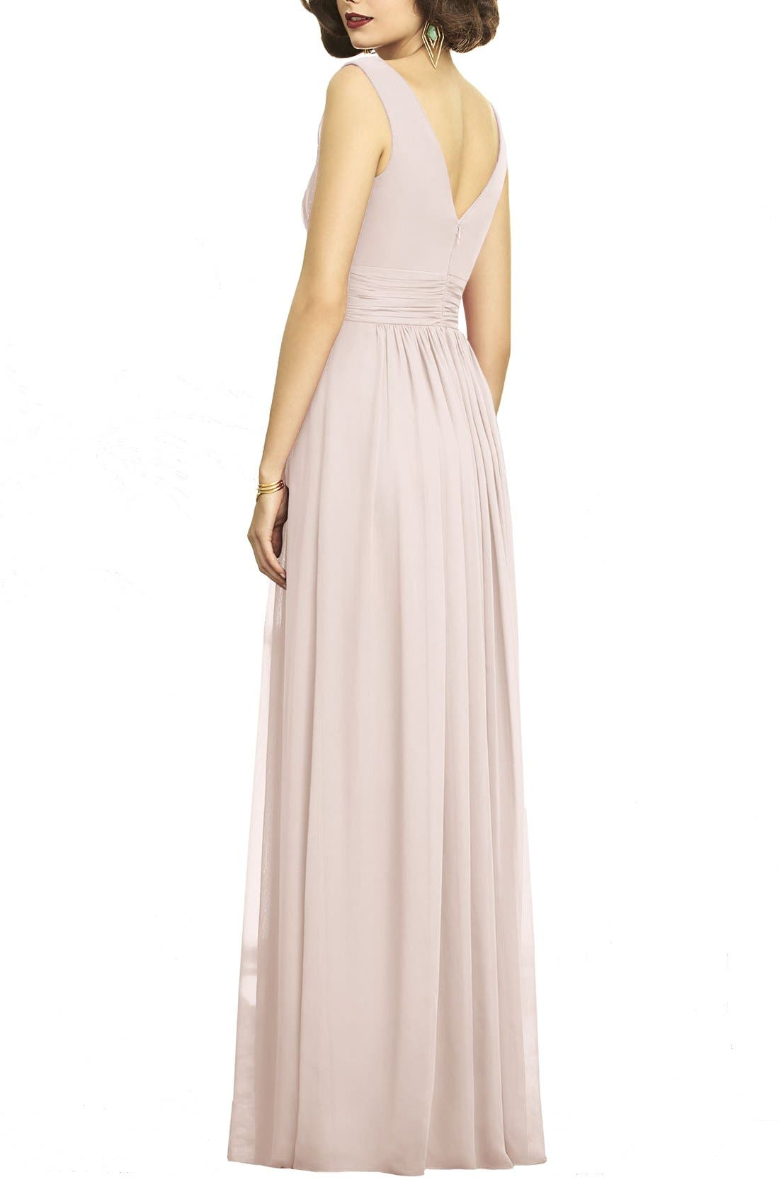 Chiffon bridesmaid wedding party dresses nordstrom ombrellifo Choice Image