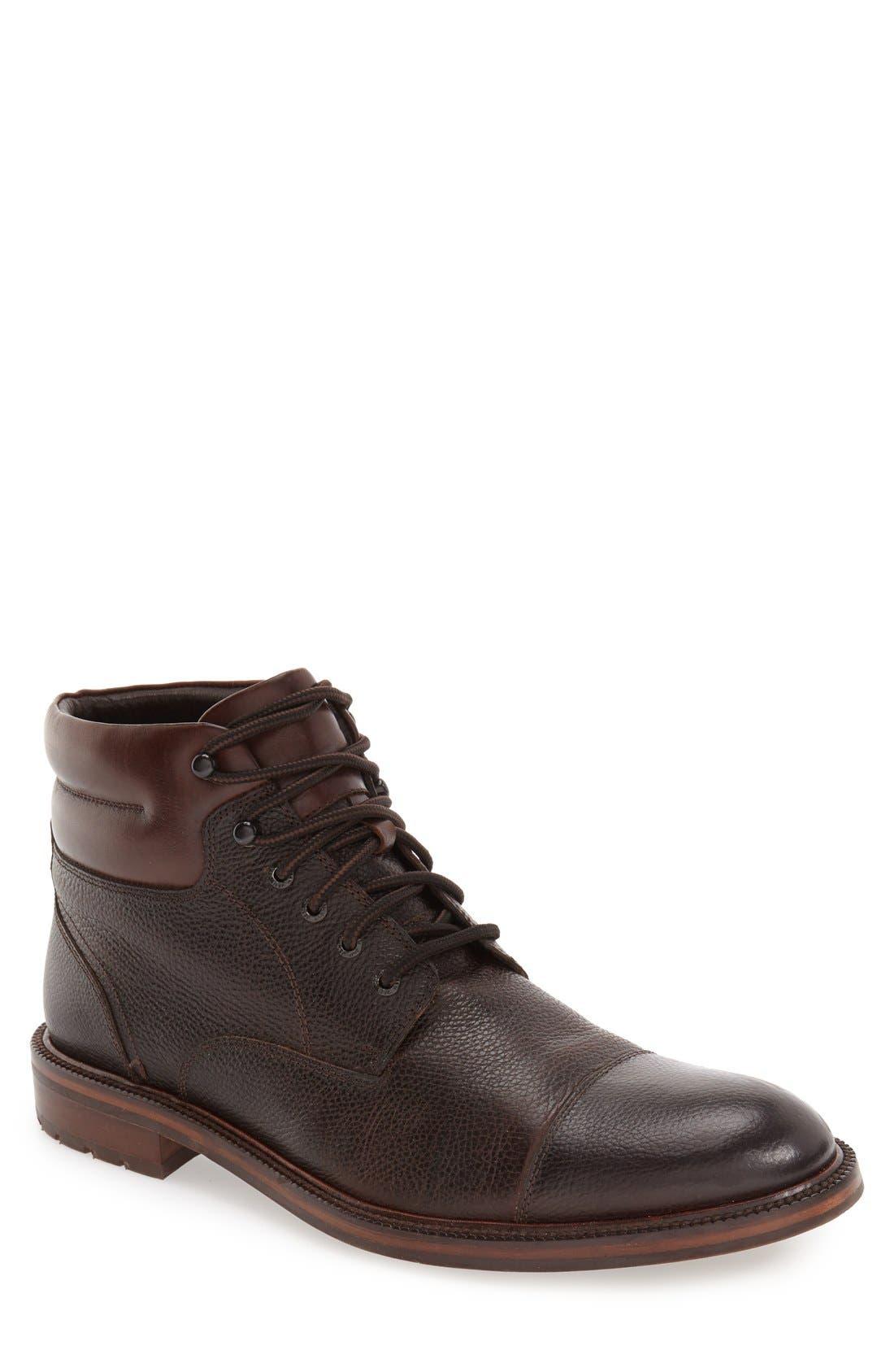 J&M 1850 'Fulton' Cap Toe Boot (Men)