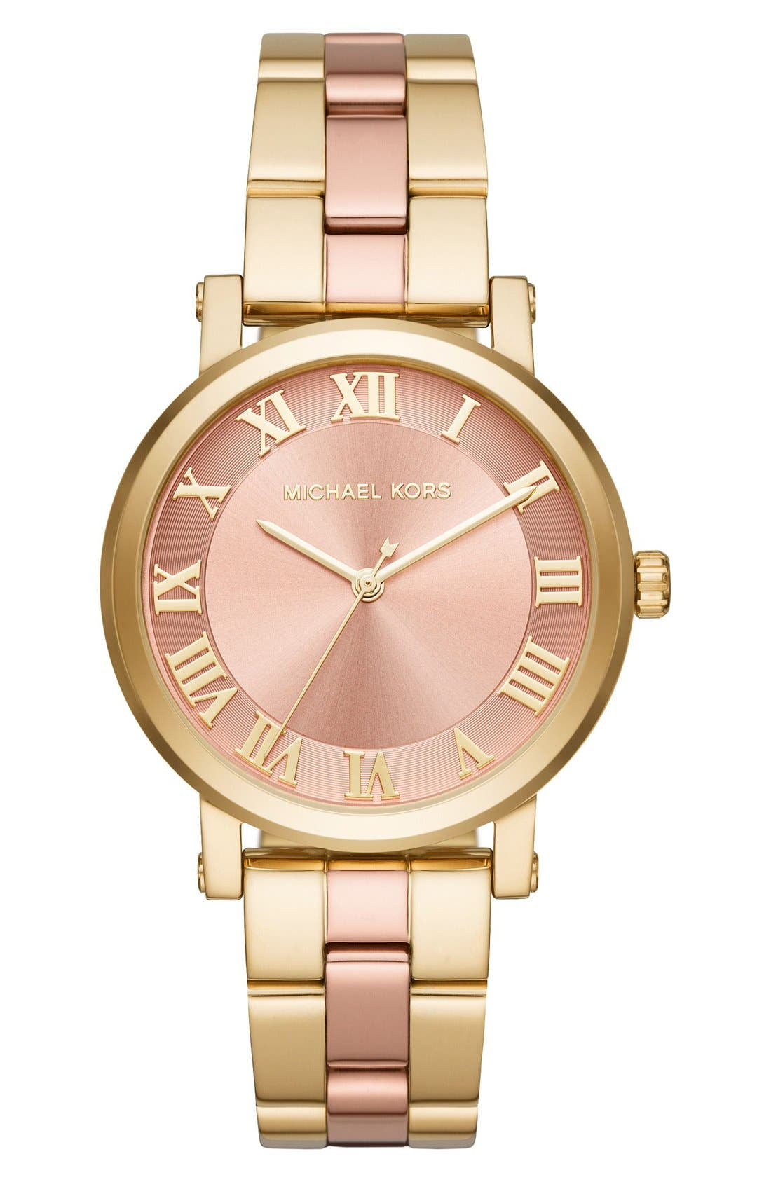 Main Image - Michael Kors Norie Bracelet Watch, 39mm