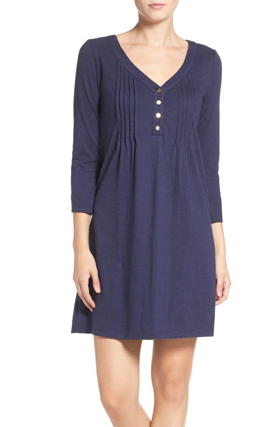 Alternate Image 1 Selected - Lilly Pulitzer® 'Amberly' Jersey T-Shirt Dress