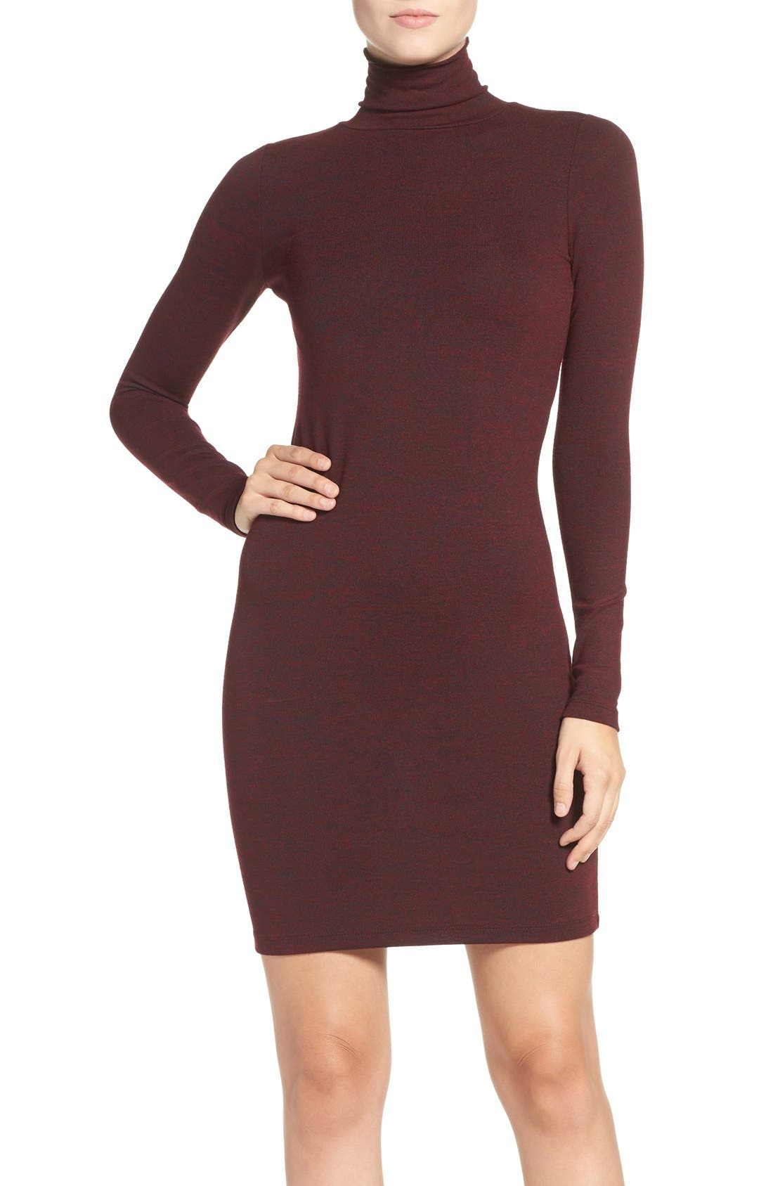 Main Image - French Connection 'Sweeter' Turtleneck Sweater Dress