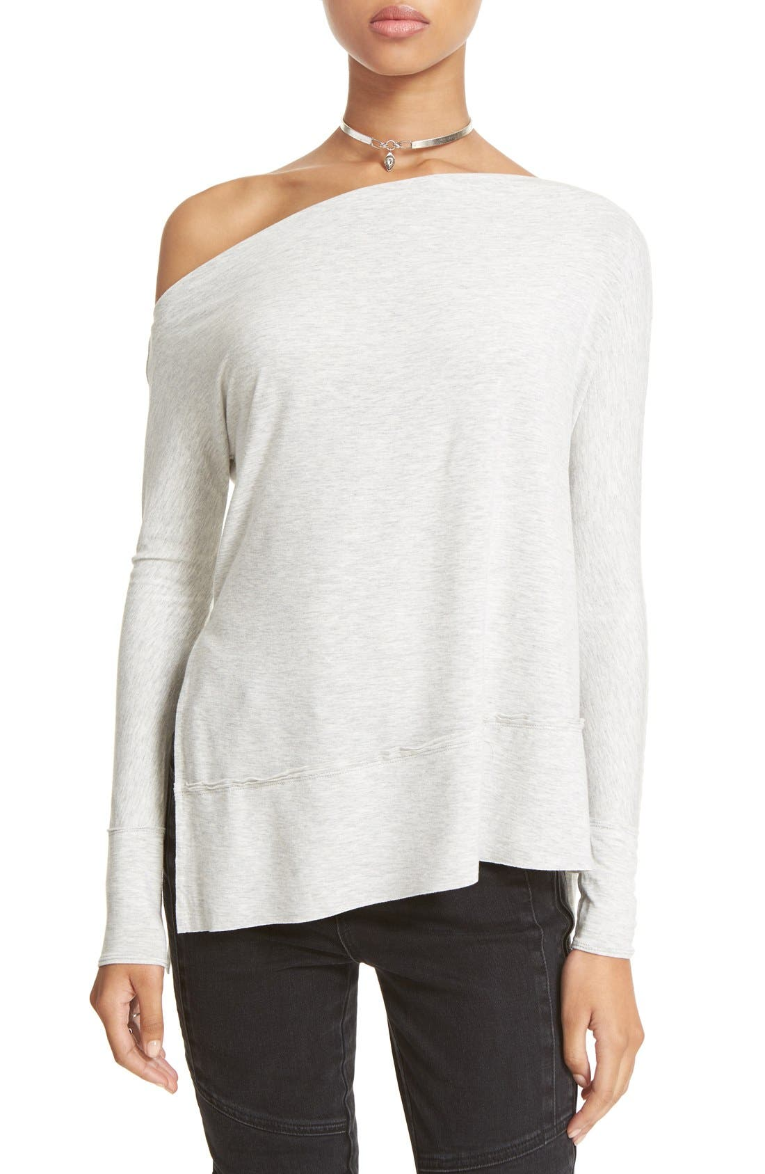 Alternate Image 1 Selected - Free People 'Luna' Long Sleeve Tee