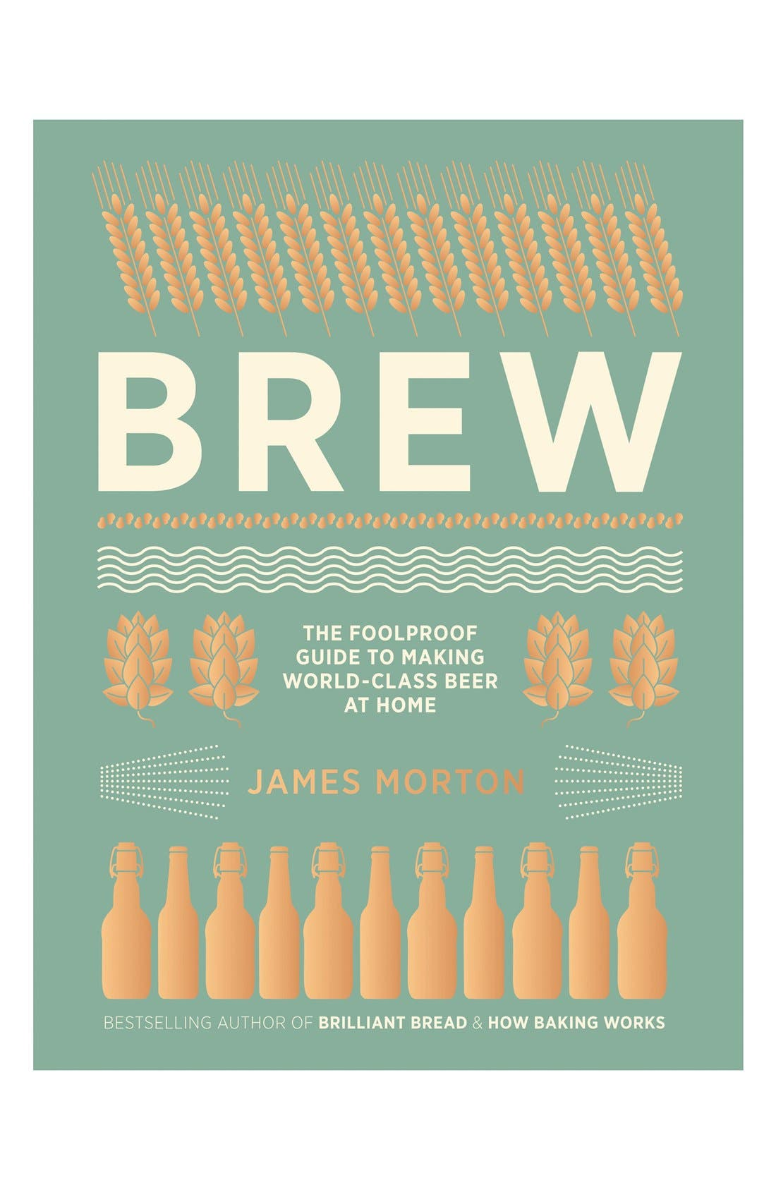 'Brew - The Foolproof Guide to Making World-Class Beer at Home' Book,                             Main thumbnail 1, color,                             Green